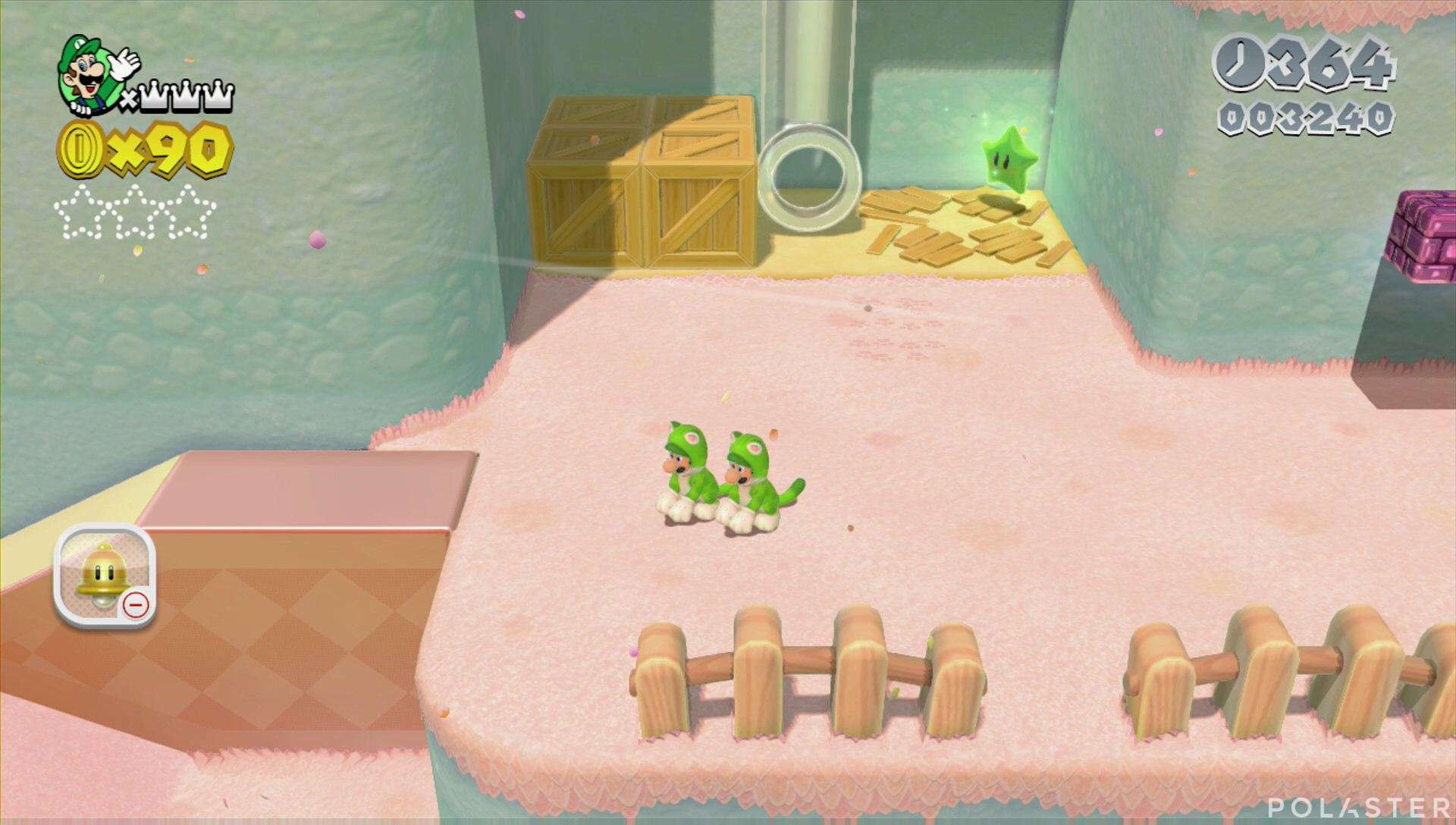 Super Mario 3D World Mundo 2-5 Estrella 1