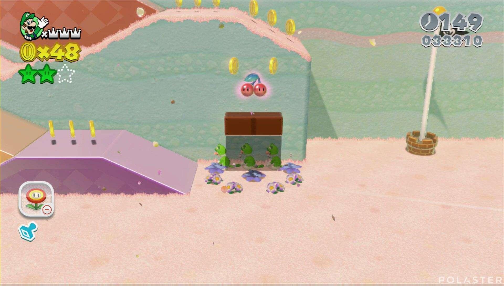 Super Mario 3D World Mundo 2-5 Estrella 3