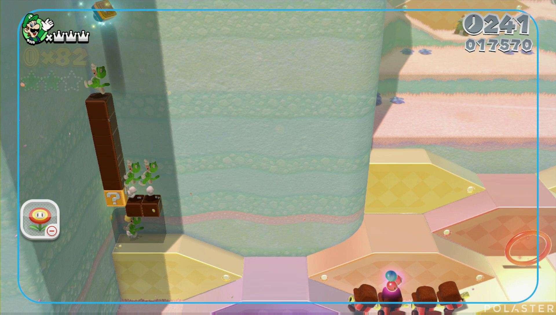 Super Mario 3D World Mundo 2-5 Sello