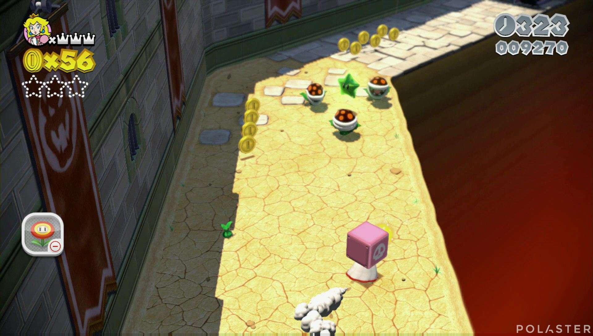 Super Mario 3D World Mundo 2-Castillo Estrella 1