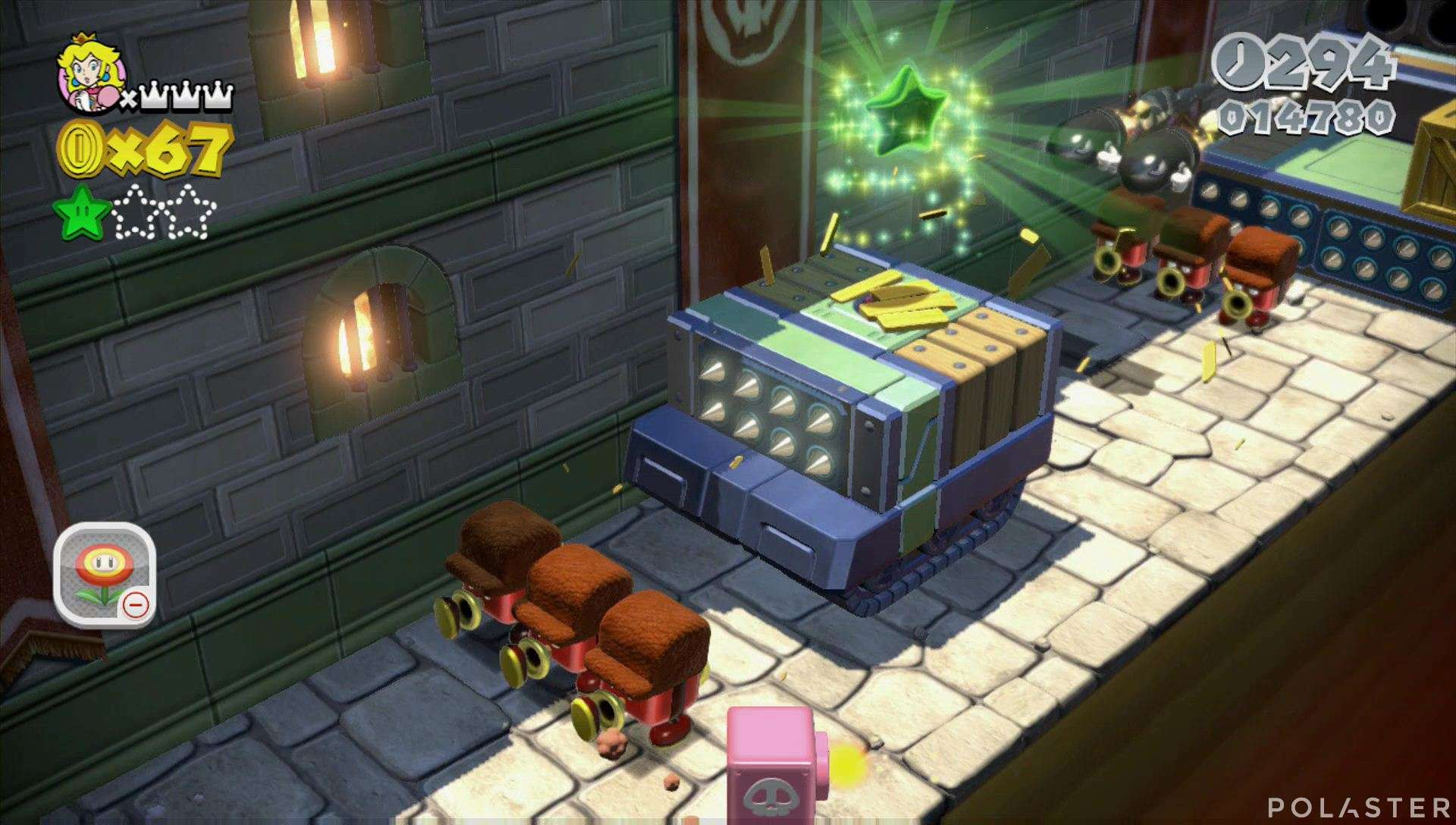 Super Mario 3D World Mundo 2-Castillo Estrella 2
