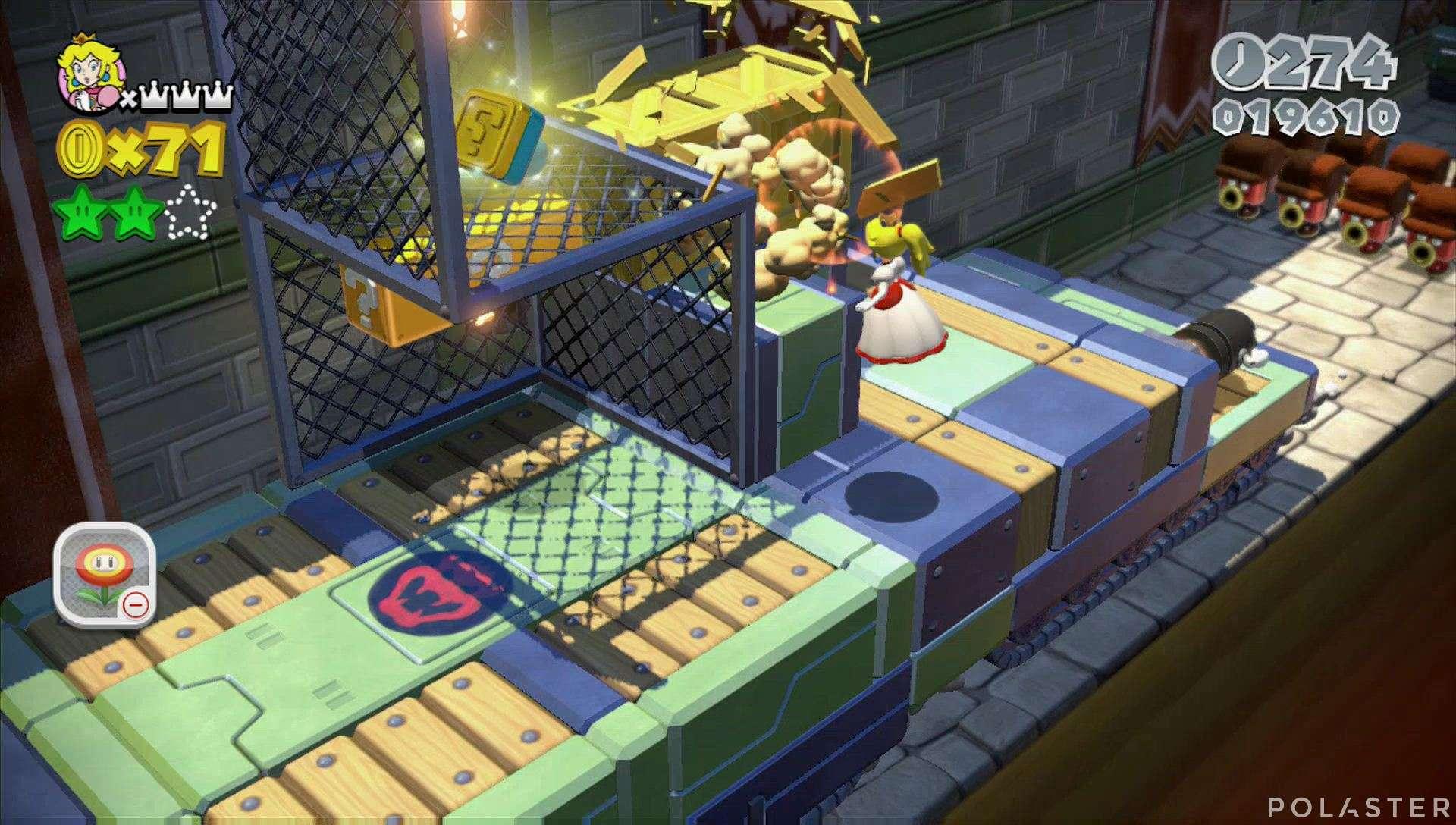 Super Mario 3D World Mundo 2-Castillo Sello