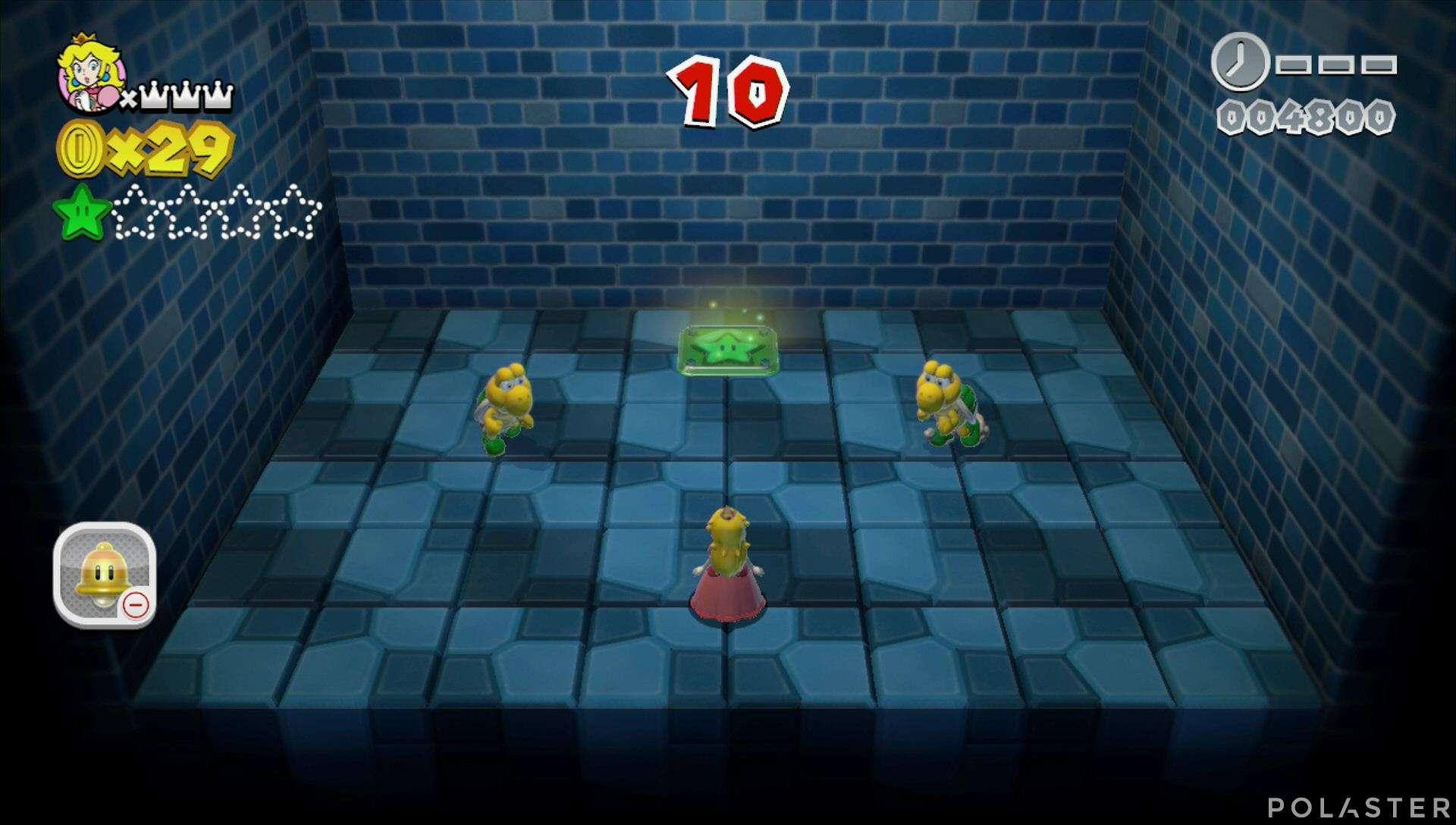 Super Mario 3D World Mundo 2-Misterio Estrella 2