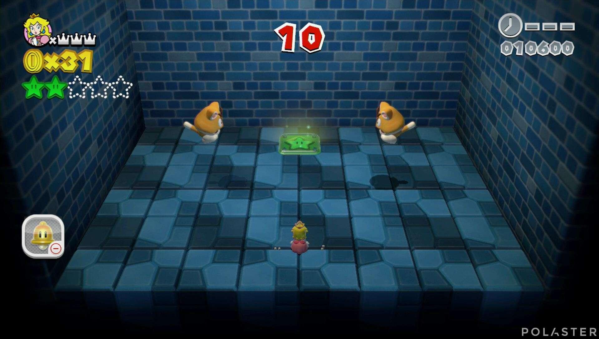 Super Mario 3D World Mundo 2-Misterio Estrella 3