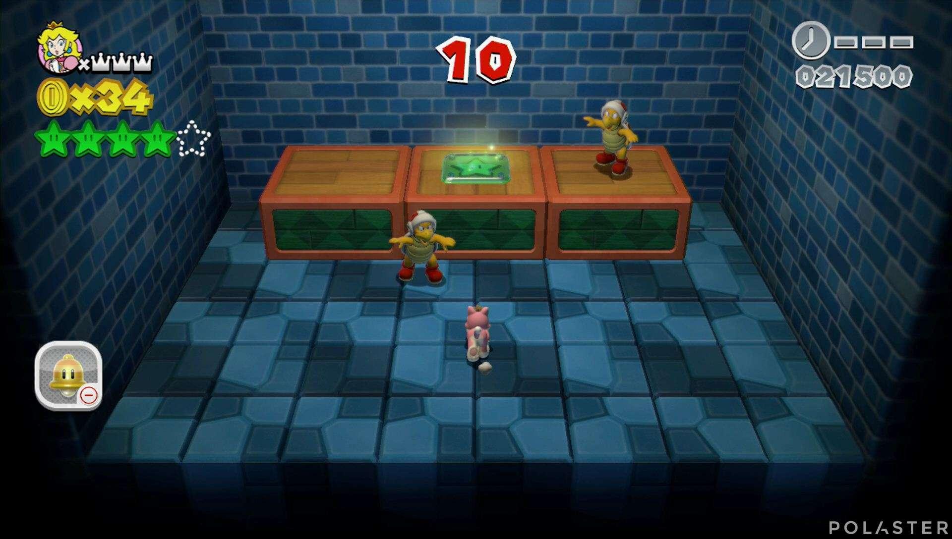 Super Mario 3D World Mundo 2-Misterio Estrella 5