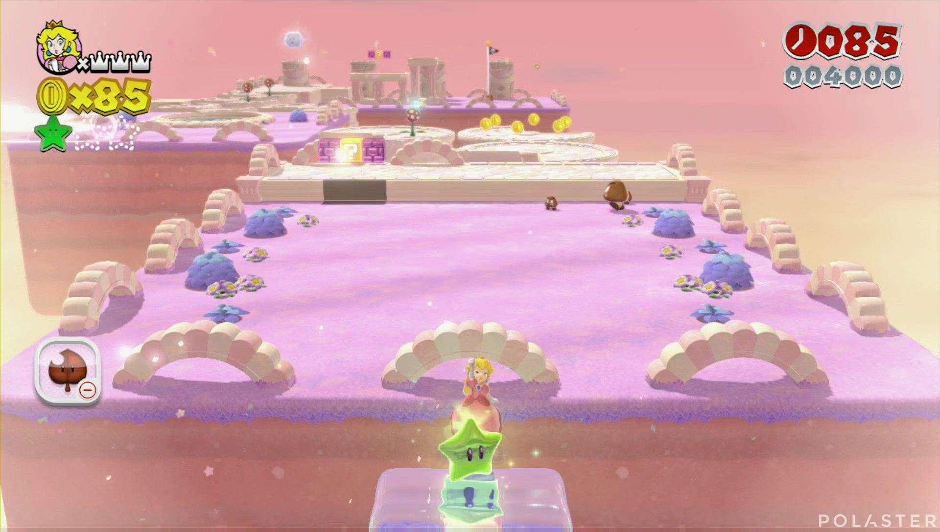 Super Mario 3D World Mundo 3-4 Estrella 1