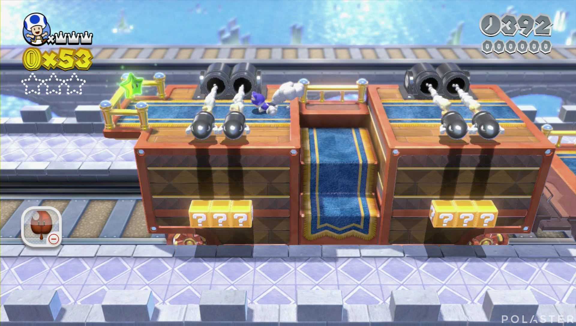Super Mario 3D World Mundo 3-Castillo Estrella 1