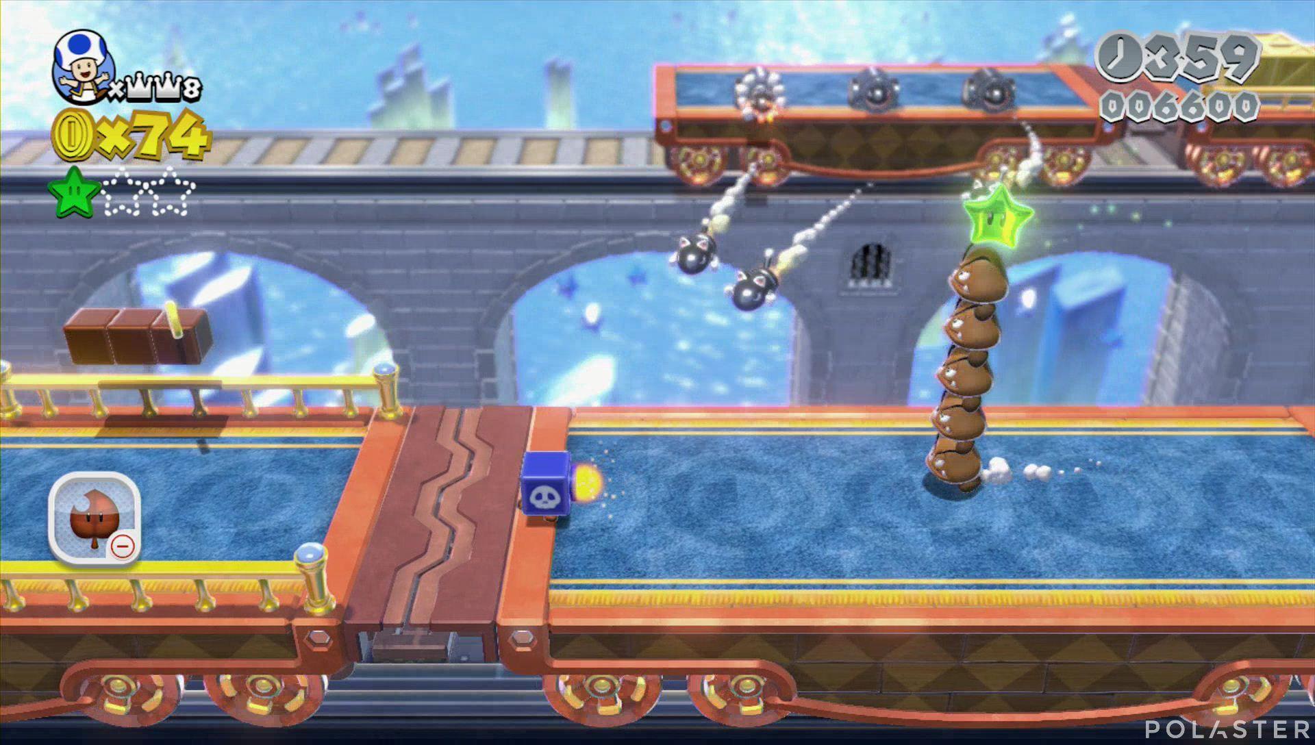 Super Mario 3D World Mundo 3-Castillo Estrella 2