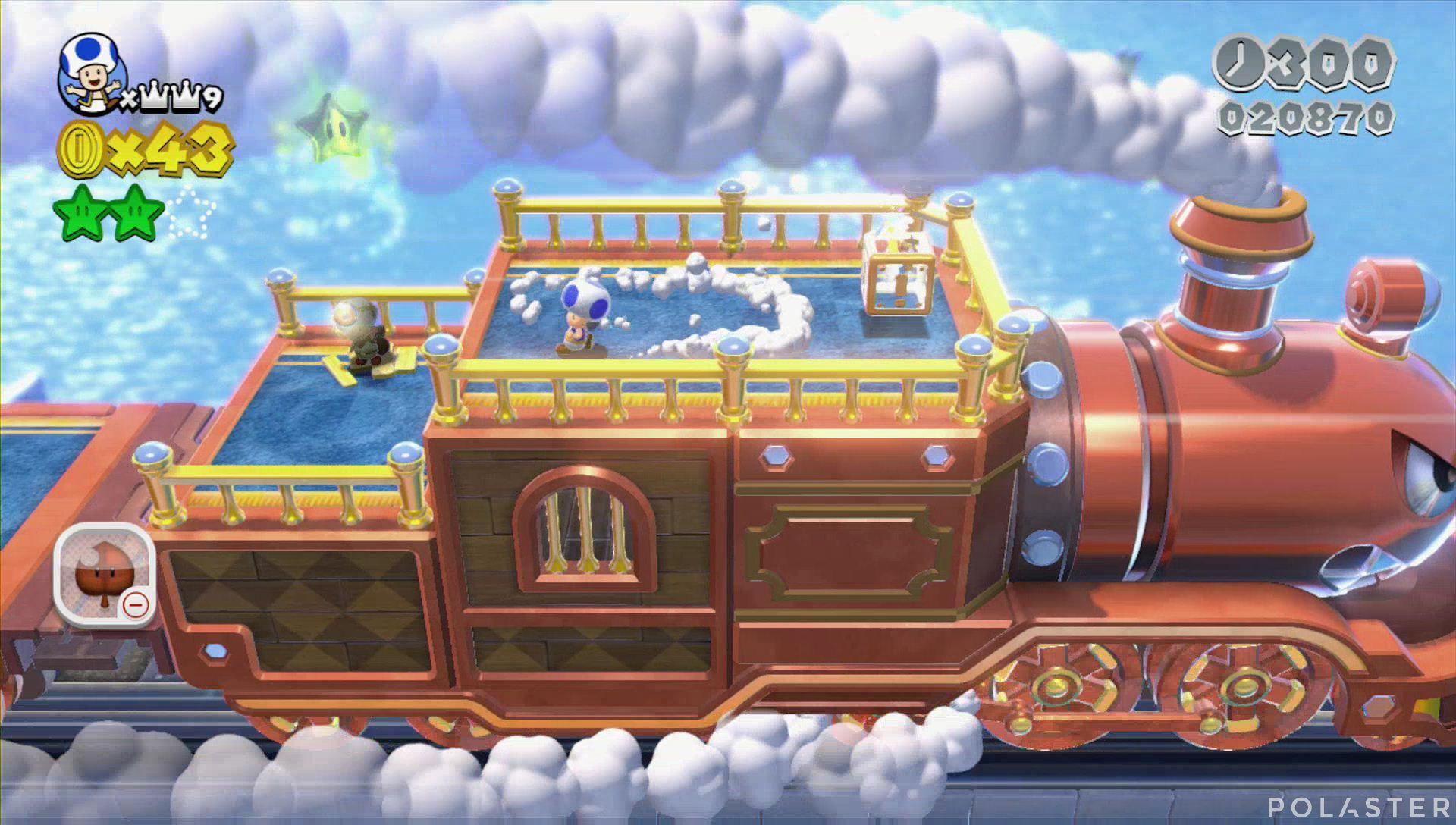 Super Mario 3D World Mundo 3-Castillo Estrella 3