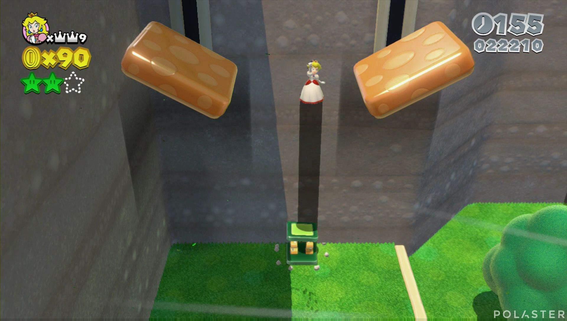 Super Mario 3D World Mundo 4-4 Estrella 2