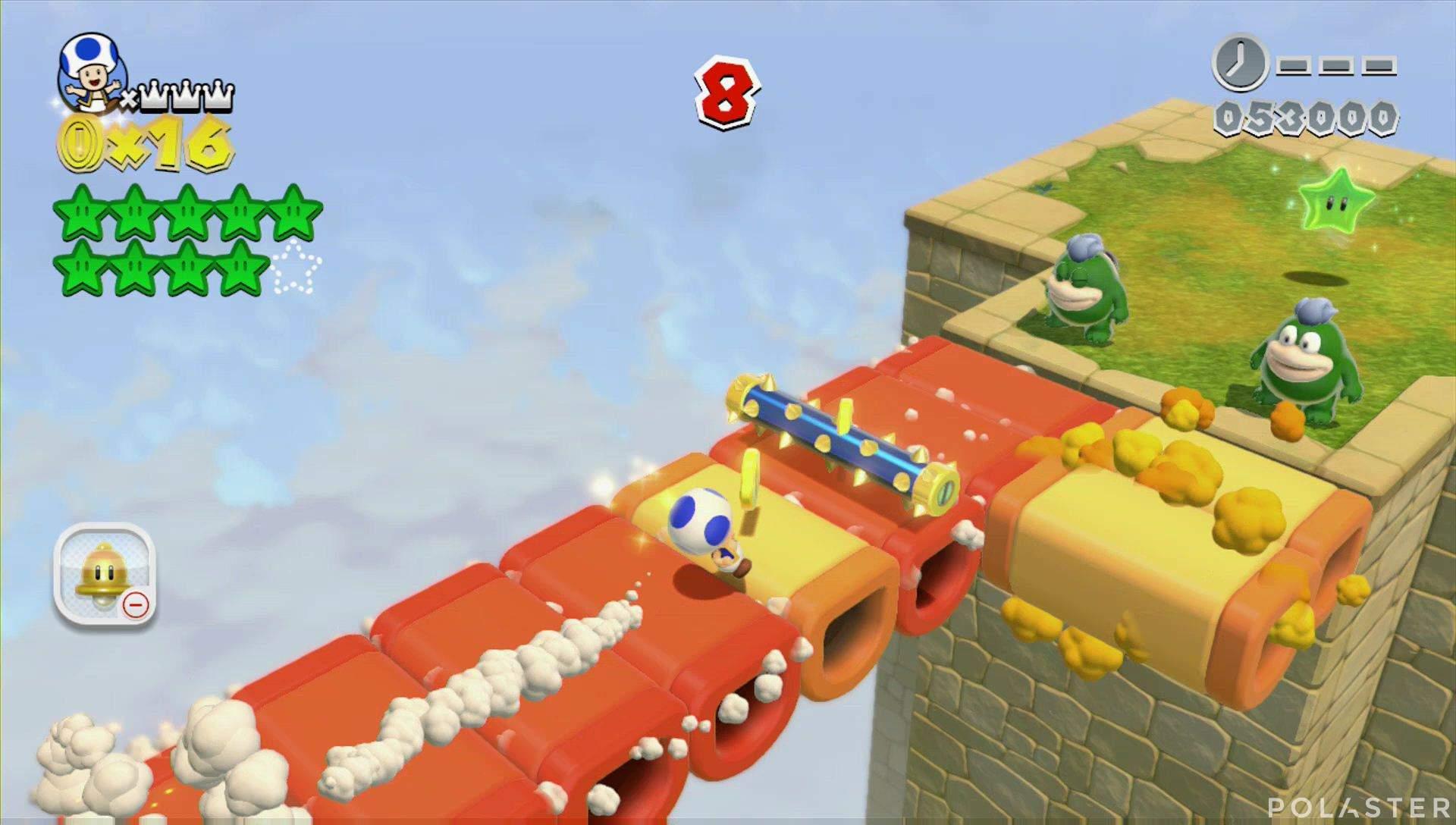 Super Mario 3D World Mundo 4-Misterio Estrella 10