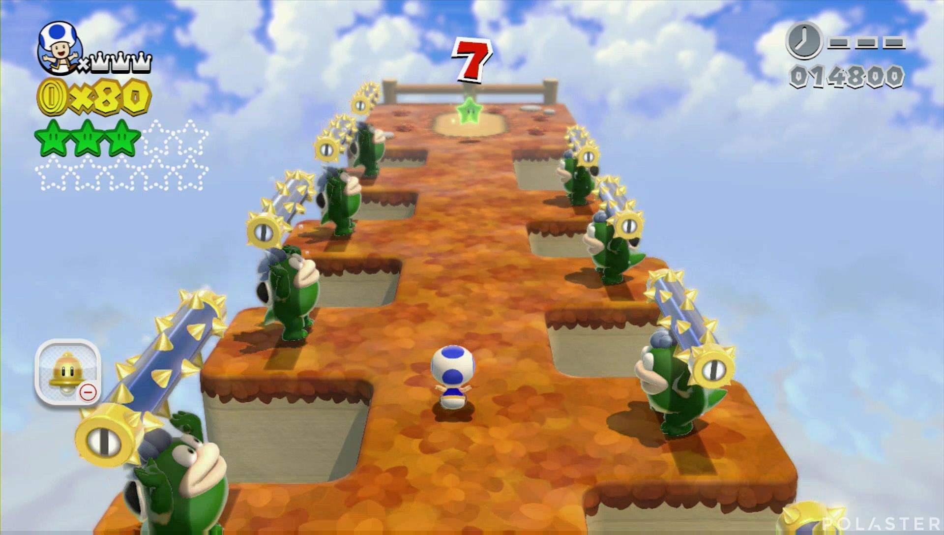 Super Mario 3D World Mundo 4-Misterio Estrella 4
