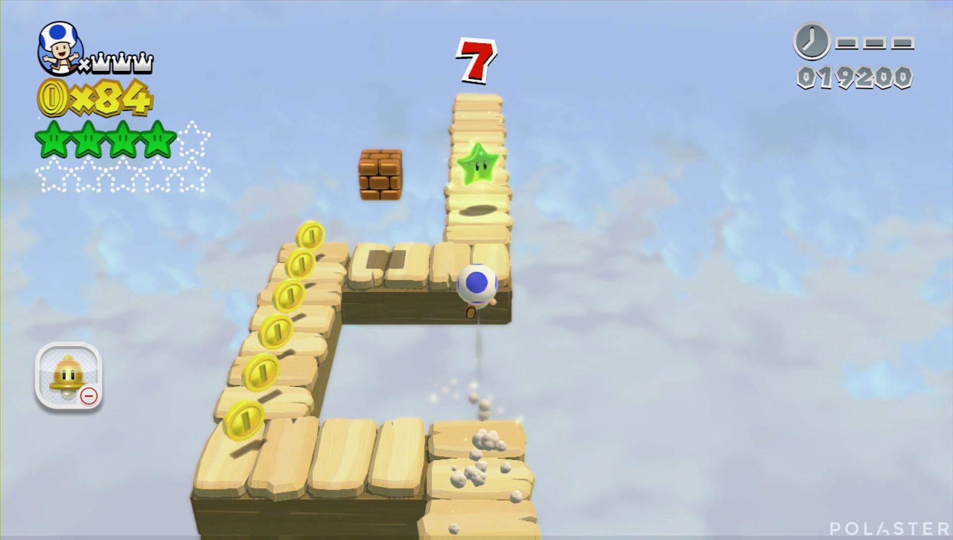 Super Mario 3D World Mundo 4-Misterio Estrella 5