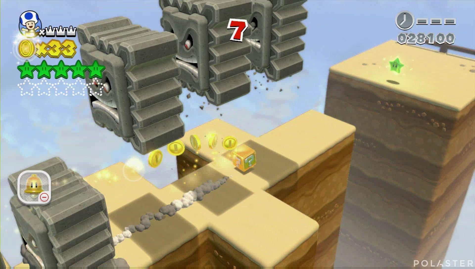 Super Mario 3D World Mundo 4-Misterio Estrella 6