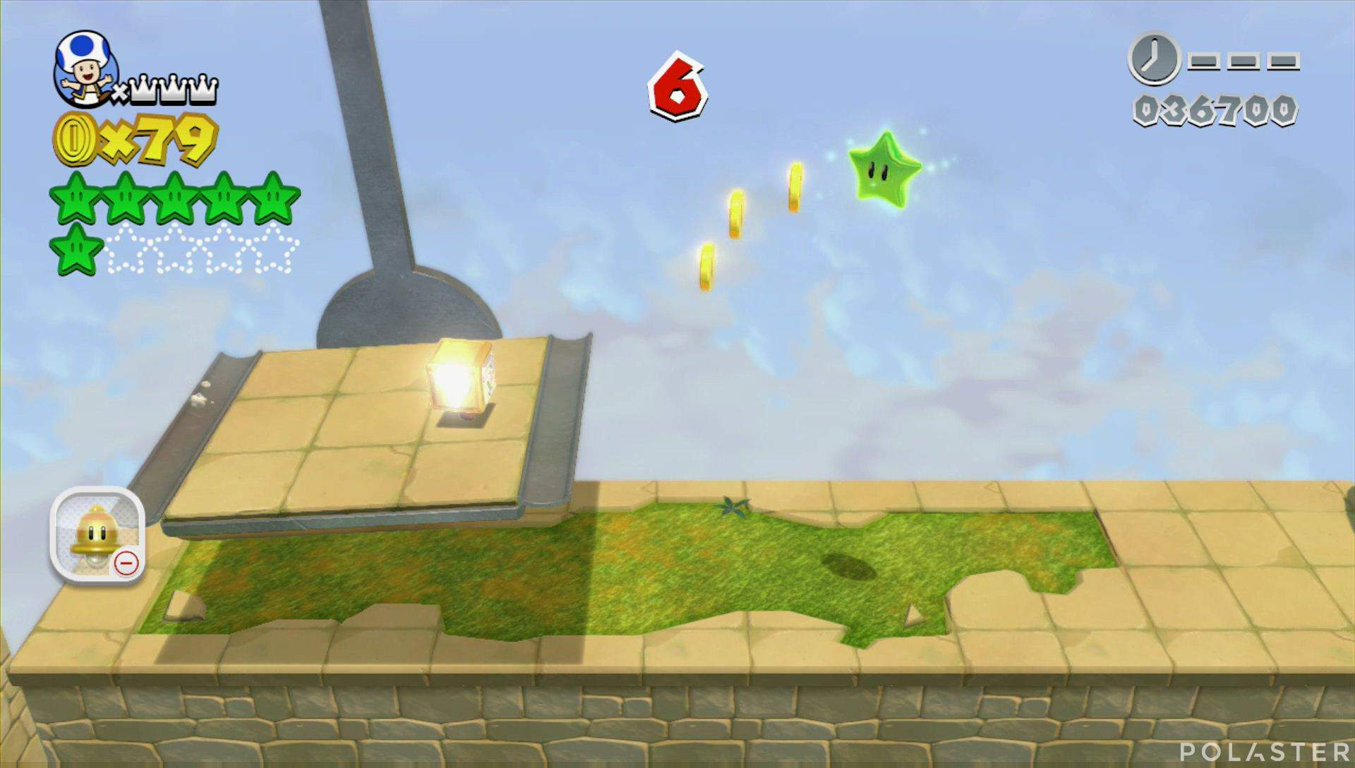 Super Mario 3D World Mundo 4-Misterio Estrella 7