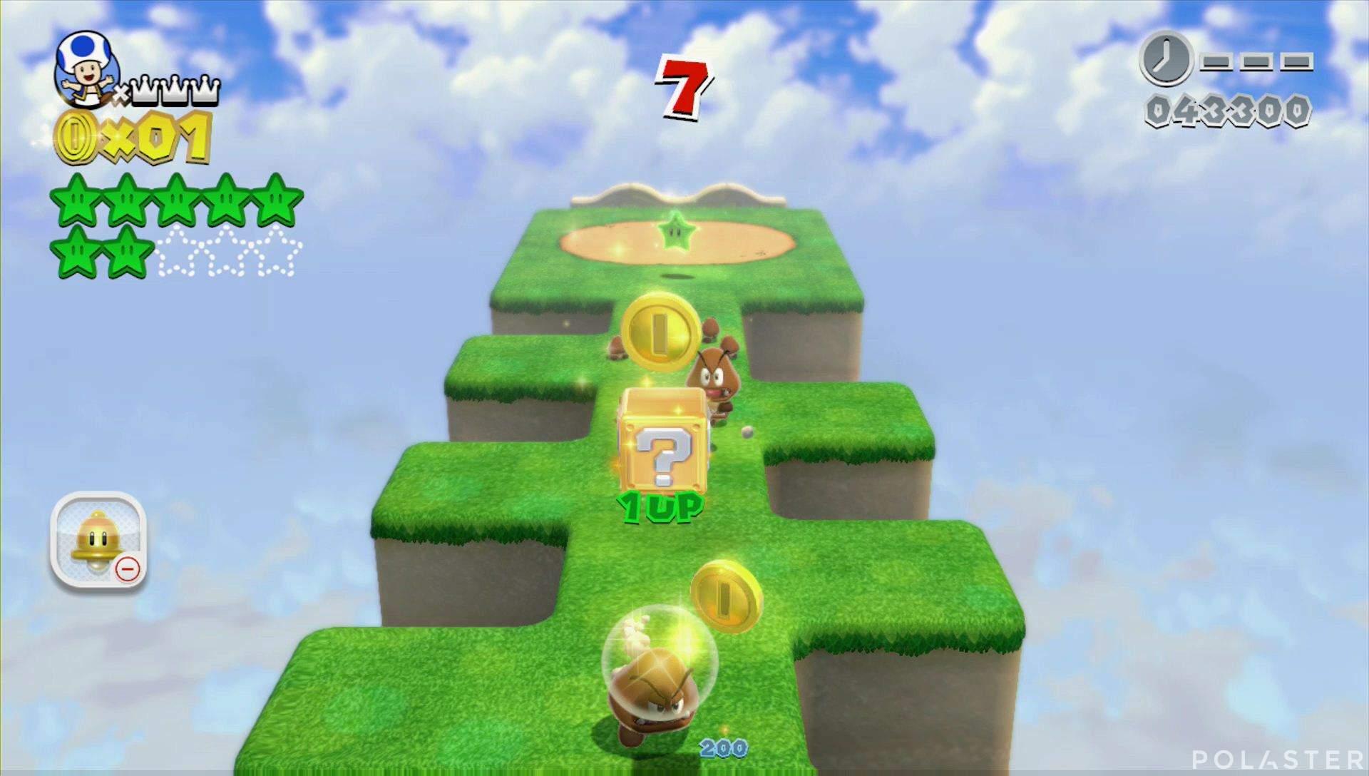 Super Mario 3D World Mundo 4-Misterio Estrella 8