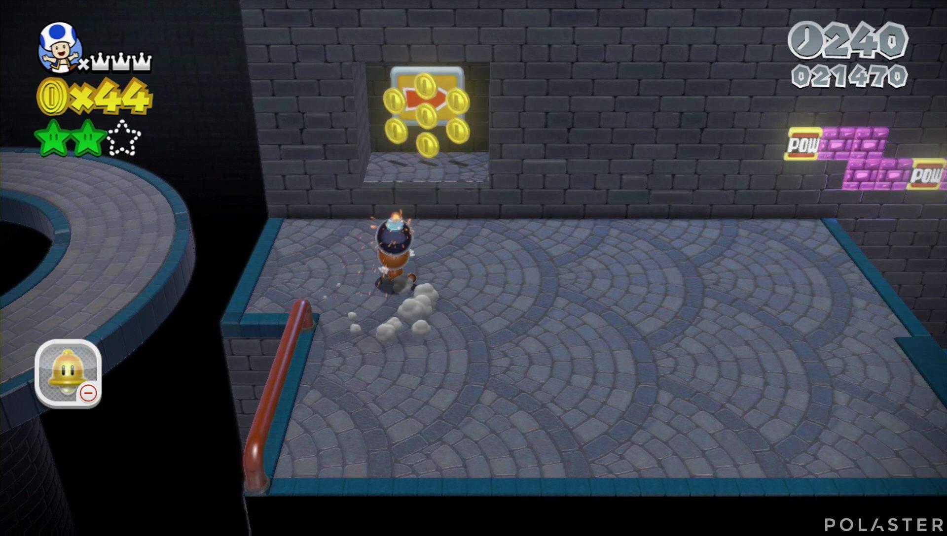 Super Mario 3D World Mundo 5-5 Sello