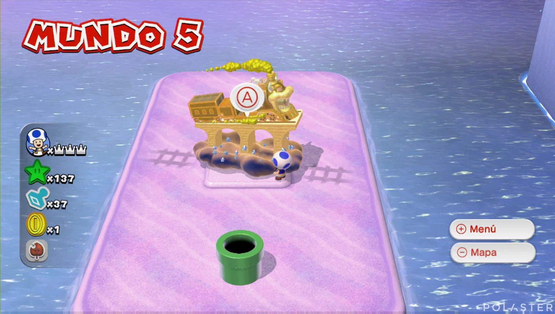 Super Mario 3D World Mundo 5-Bonus