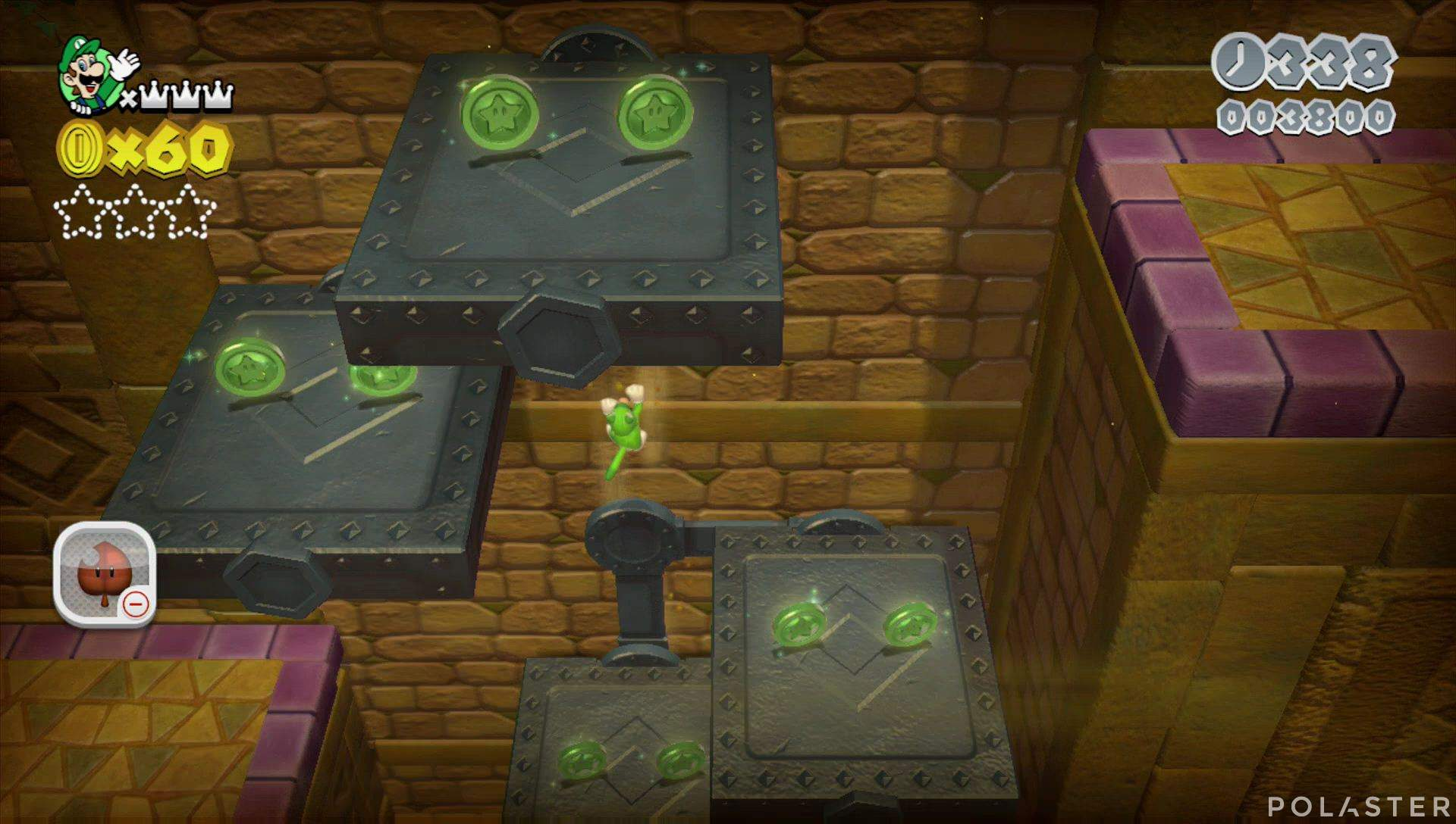 Super Mario 3D World Mundo 5-Castillo Estrella 1