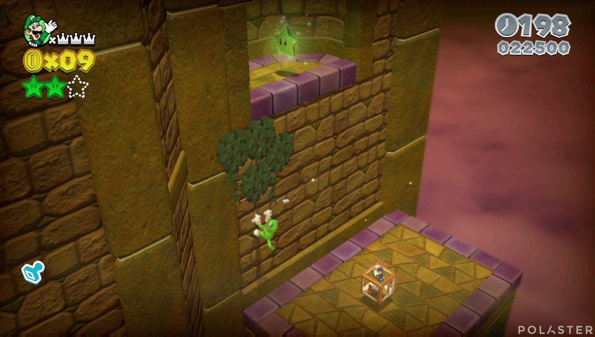Super Mario 3D World Mundo 5-Castillo Estrella 3