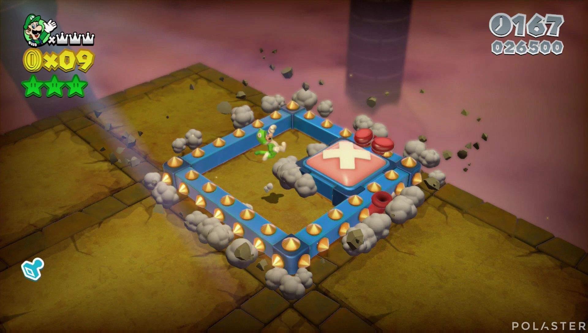 Super Mario 3D World Mundo 5-Castillo Jefe Rey Marcoplás