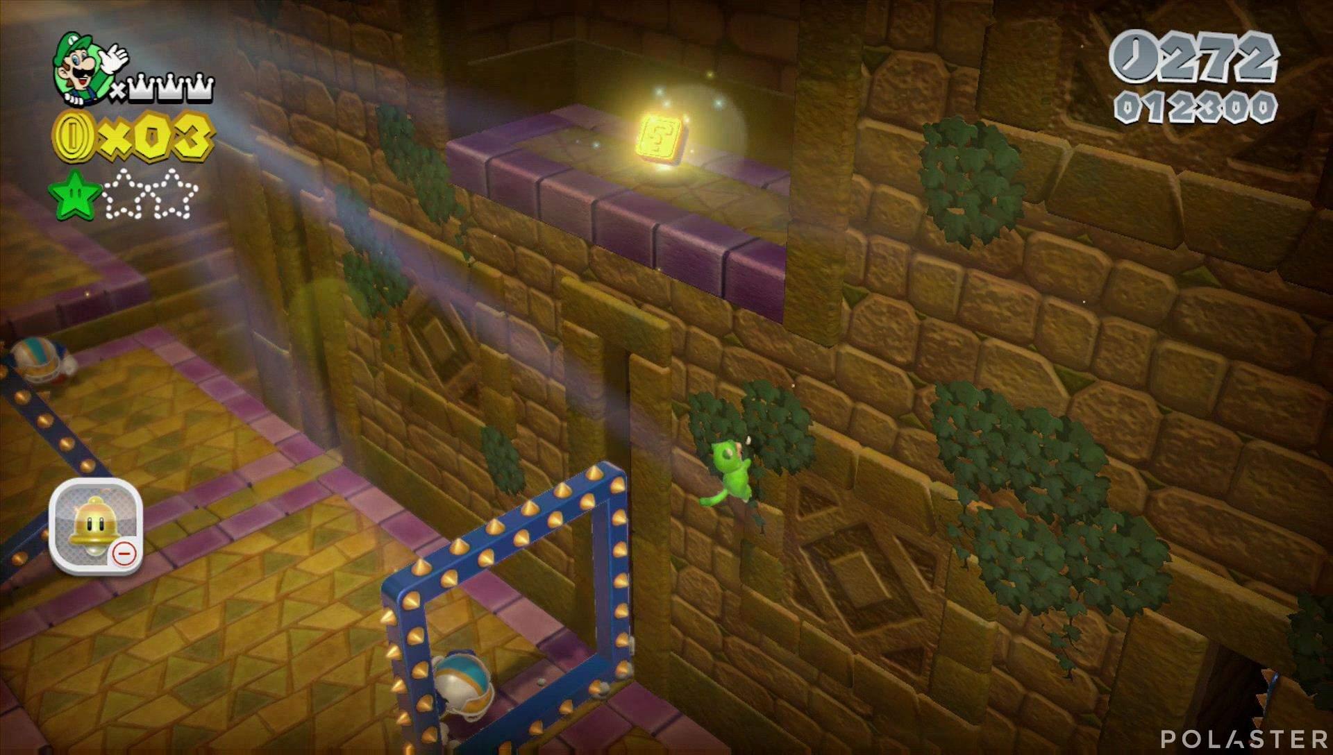 Super Mario 3D World Mundo 5-Castillo Sello