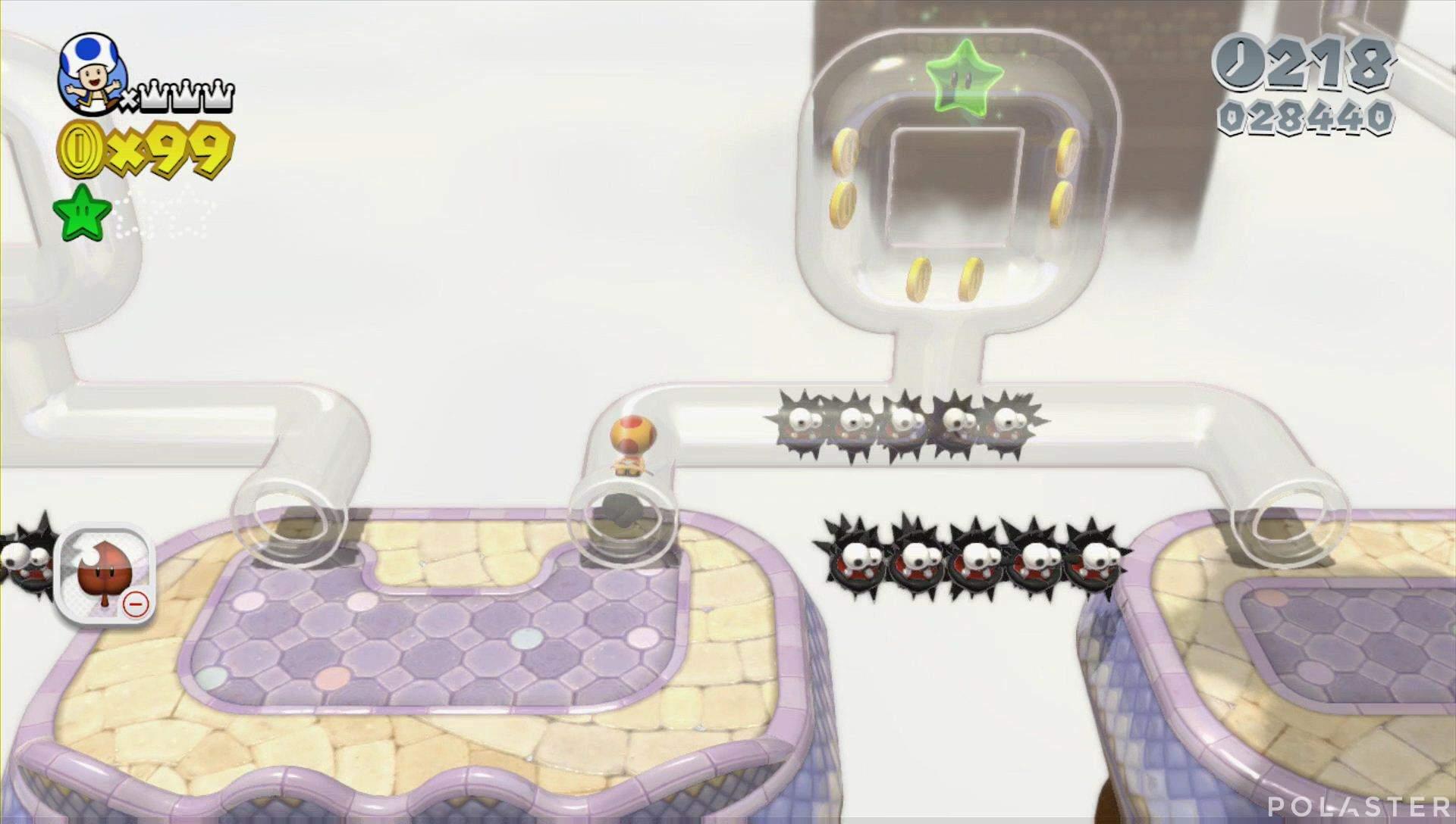 Super Mario 3D World Mundo 6-1 Estrella 2