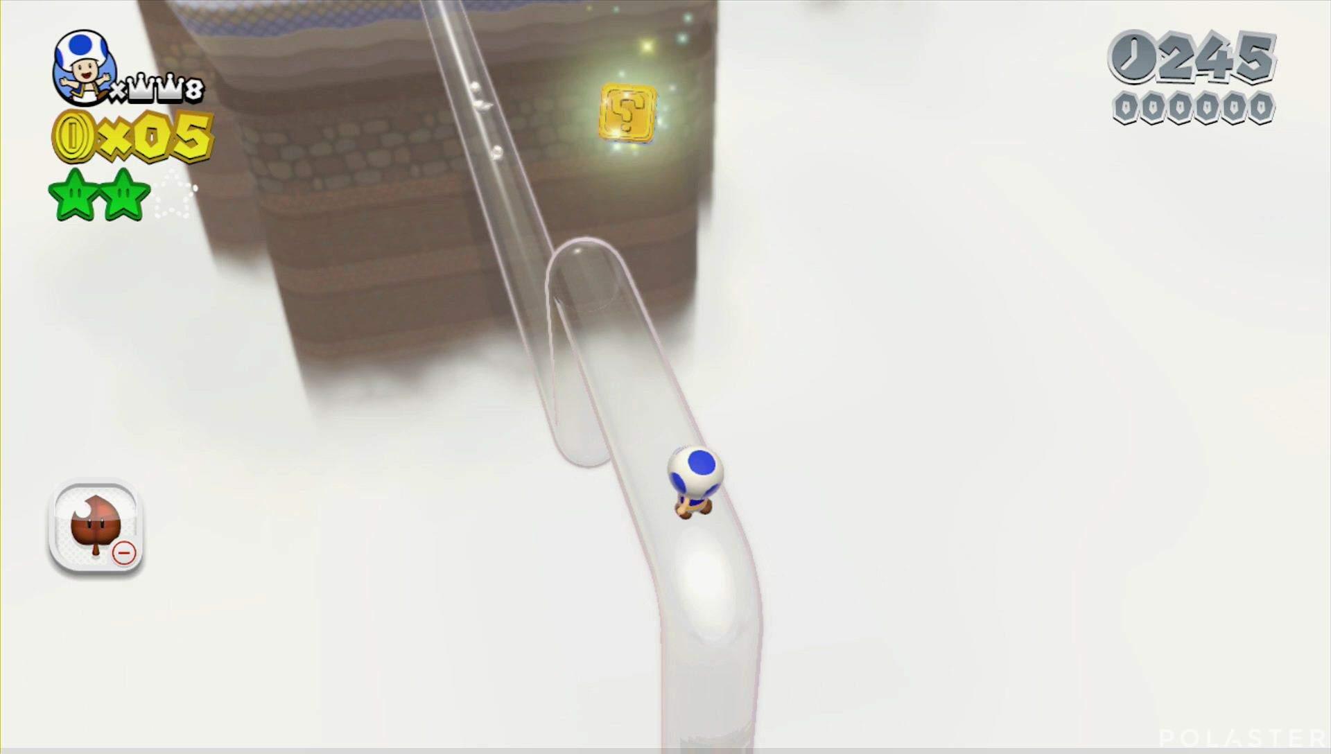 Super Mario 3D World Mundo 6-1 Sello