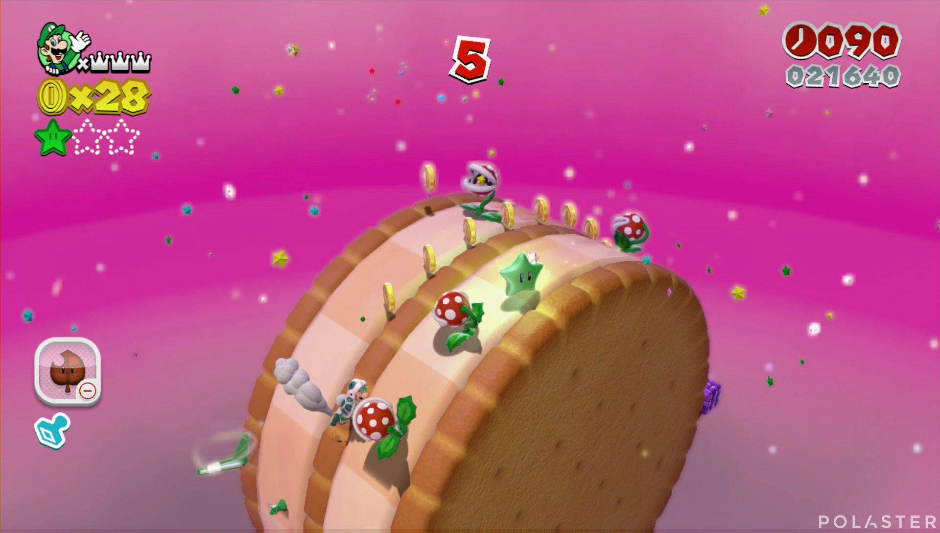 Super Mario 3D World Mundo Bowser-3 Estrella 2