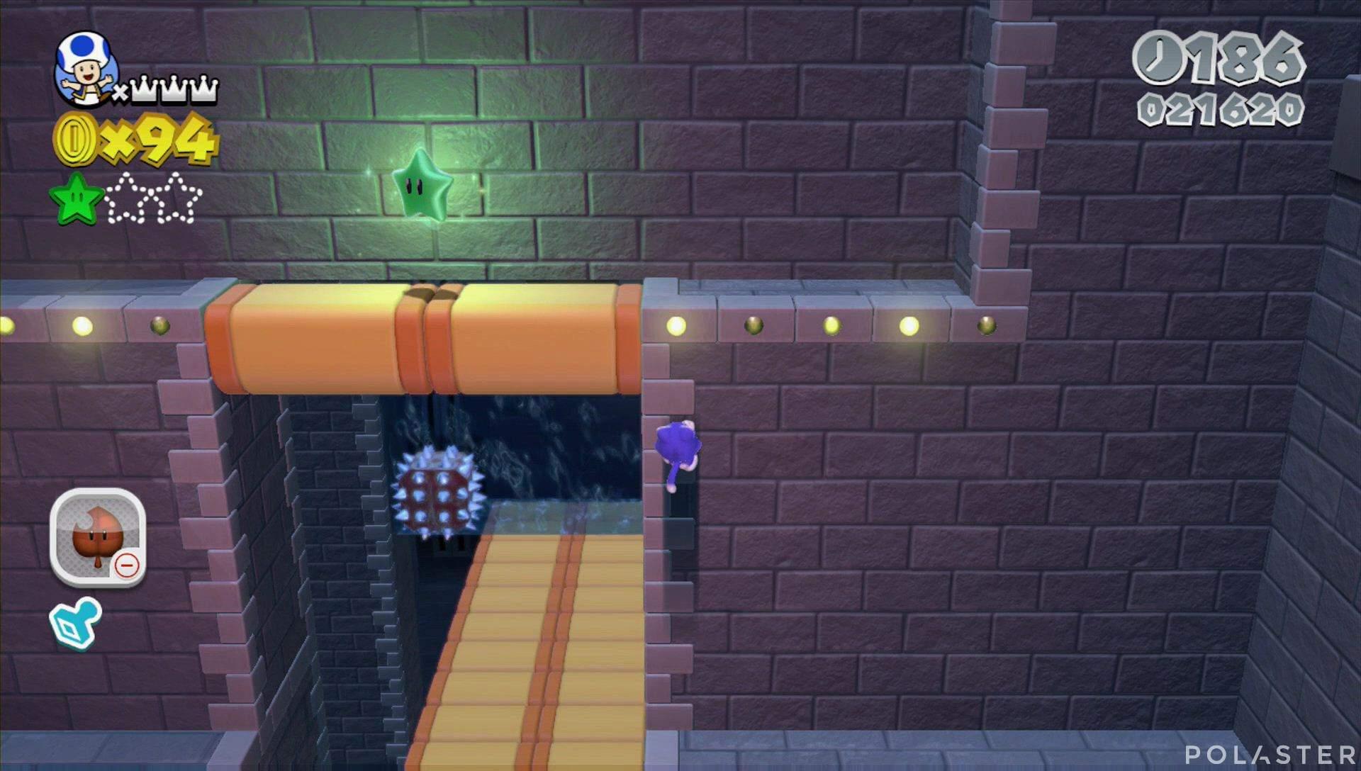 Super Mario 3D World Mundo Bowser-5 Estrella 2