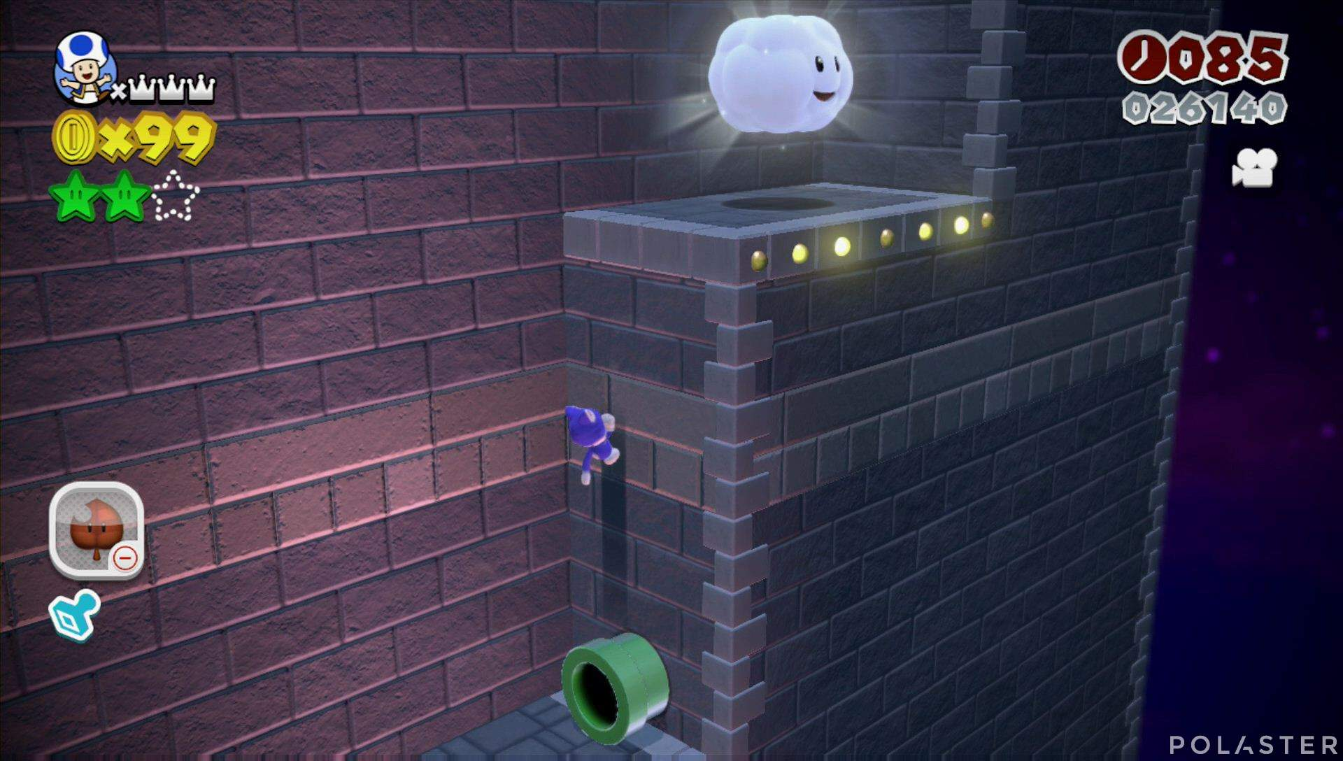 Super Mario 3D World Mundo Bowser-5 Estrella 3
