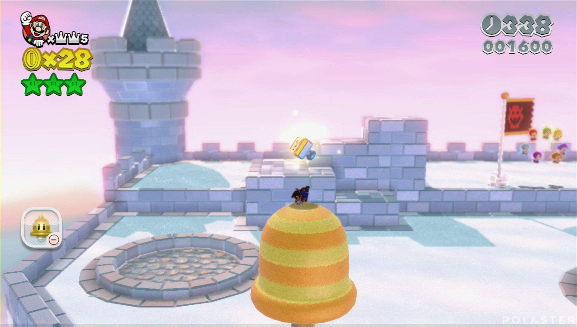 Super Mario 3D World Mundo Bowser-Castillo Sello