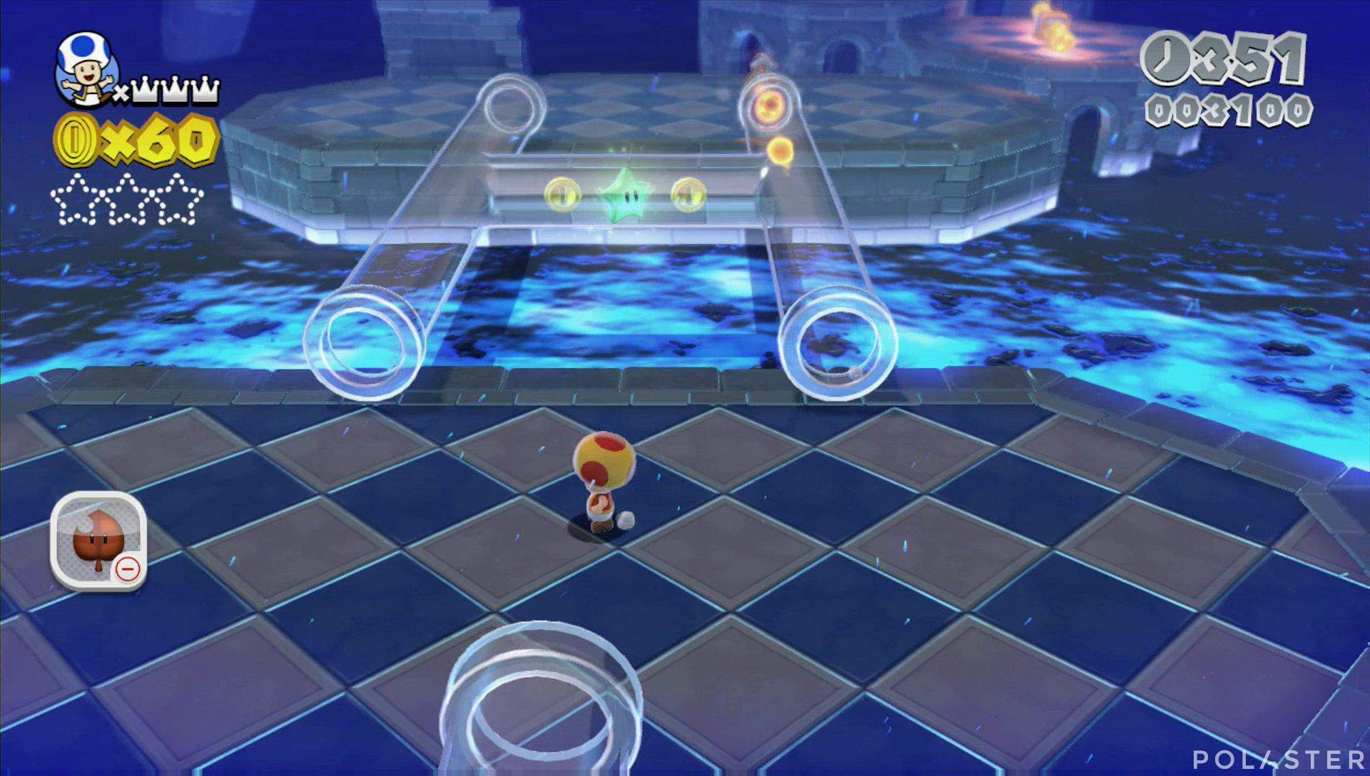 Super Mario 3D World Mundo Castillo-1 Estrella 1