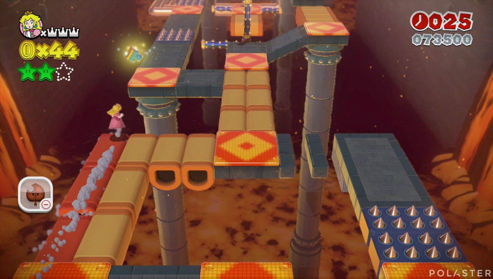 Super Mario 3D World Mundo Castillo-3 Sello