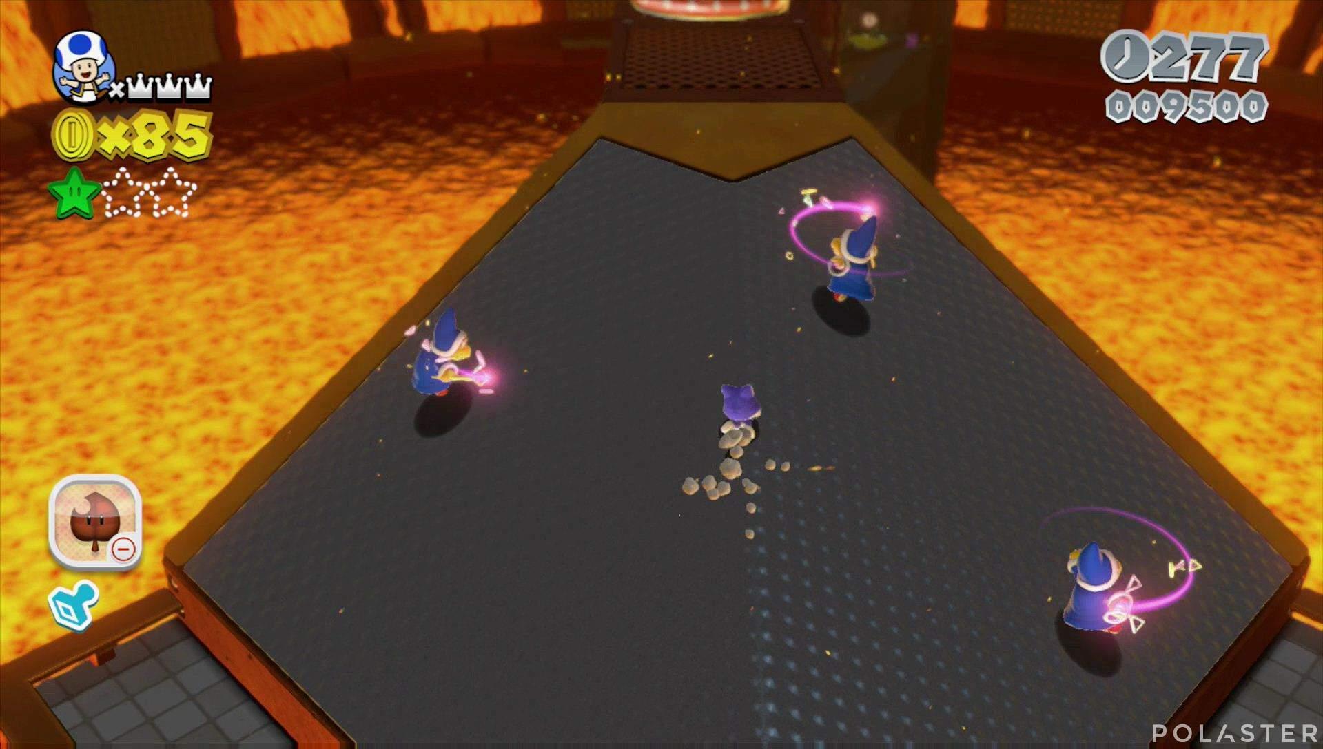 Super Mario 3D World Mundo Castillo-5 Estrella 2