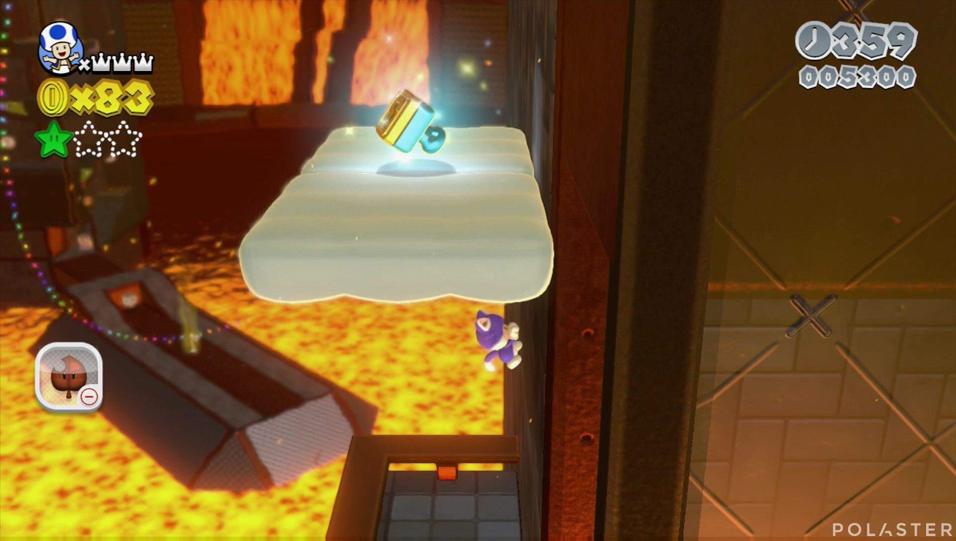 Super Mario 3D World Mundo Castillo-5 Sello