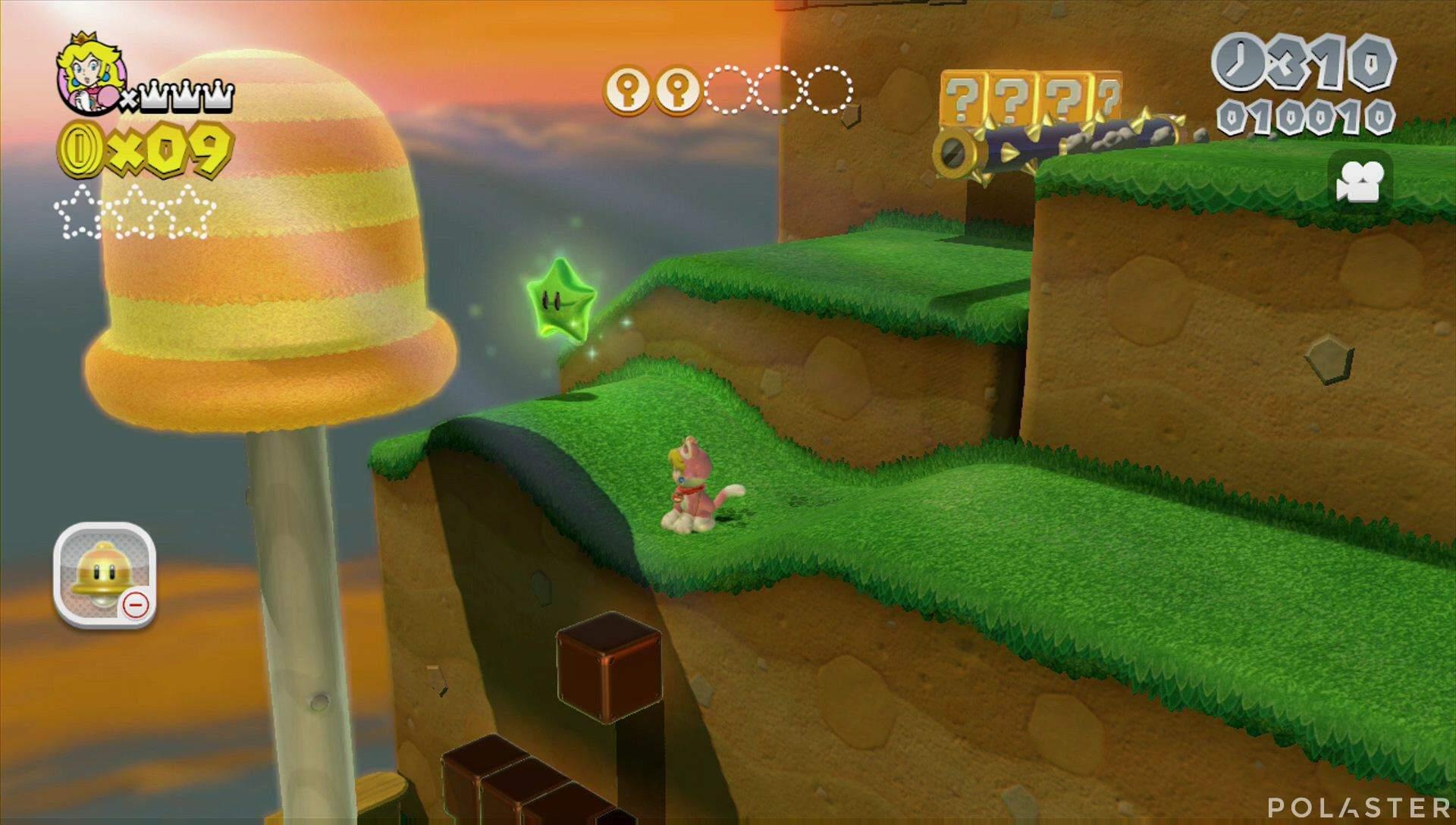 Super Mario 3D World Mundo Champiñón-2 Estrella 1