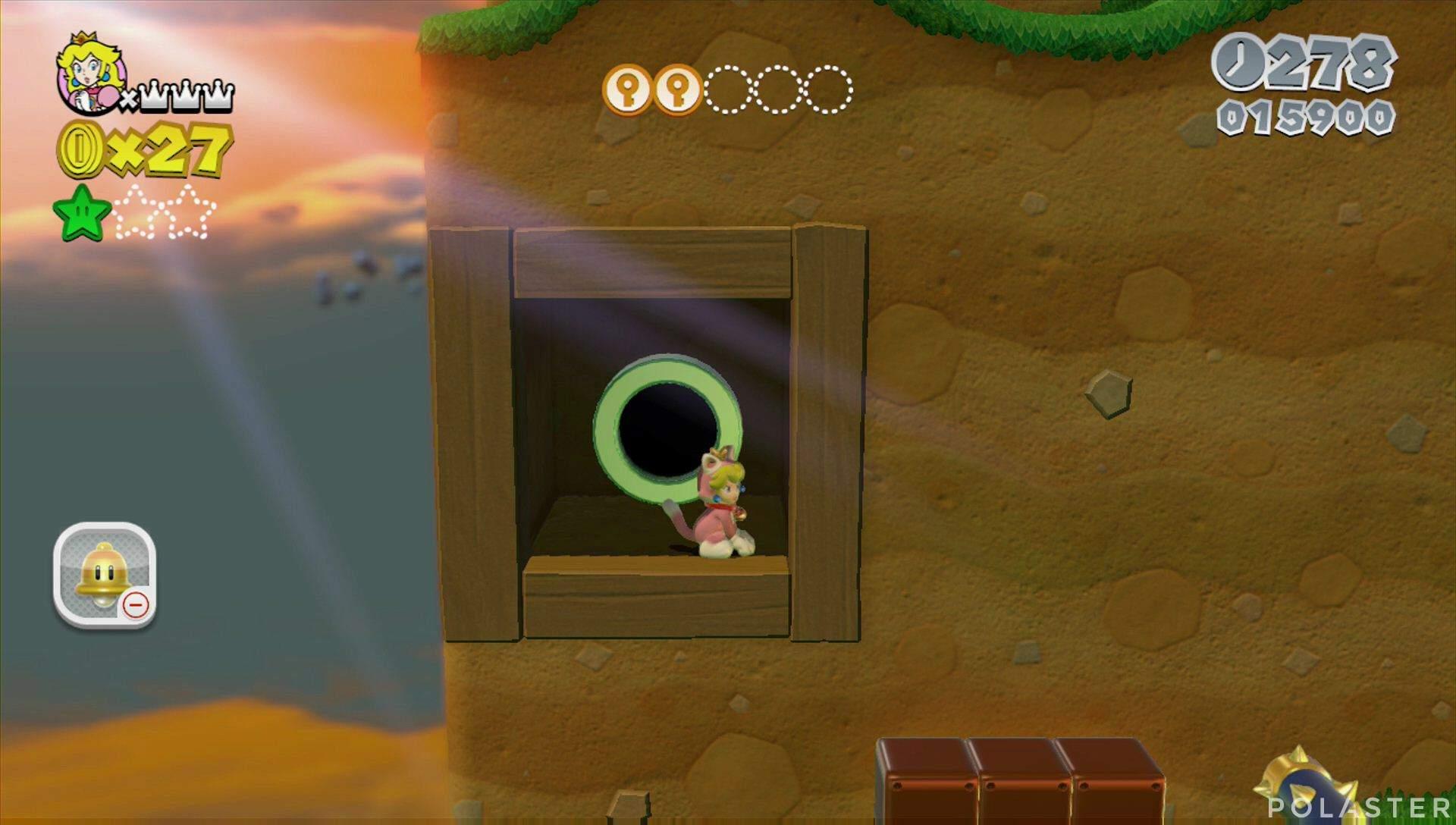 Super Mario 3D World Mundo Champiñón-2 Estrella 2