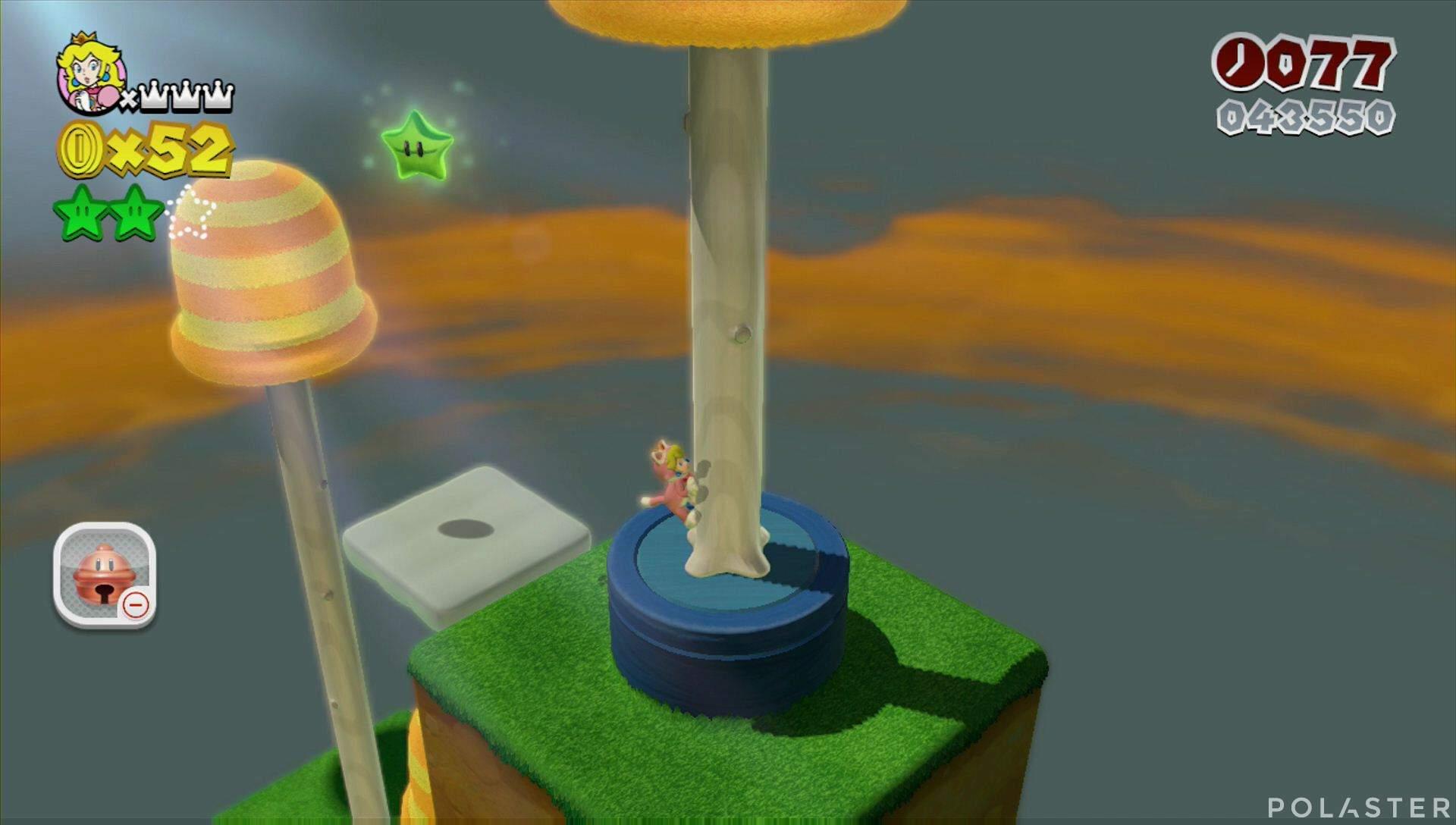Super Mario 3D World Mundo Champiñón-2 Estrella 3