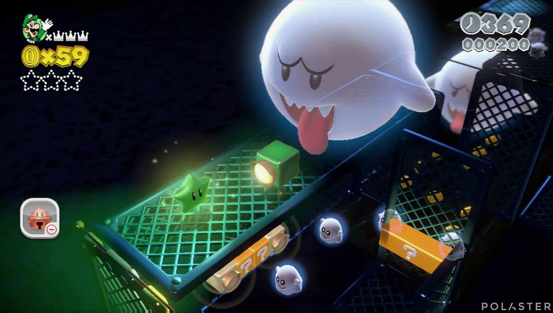 Super Mario 3D World Mundo Champiñón-3 Estrella 1