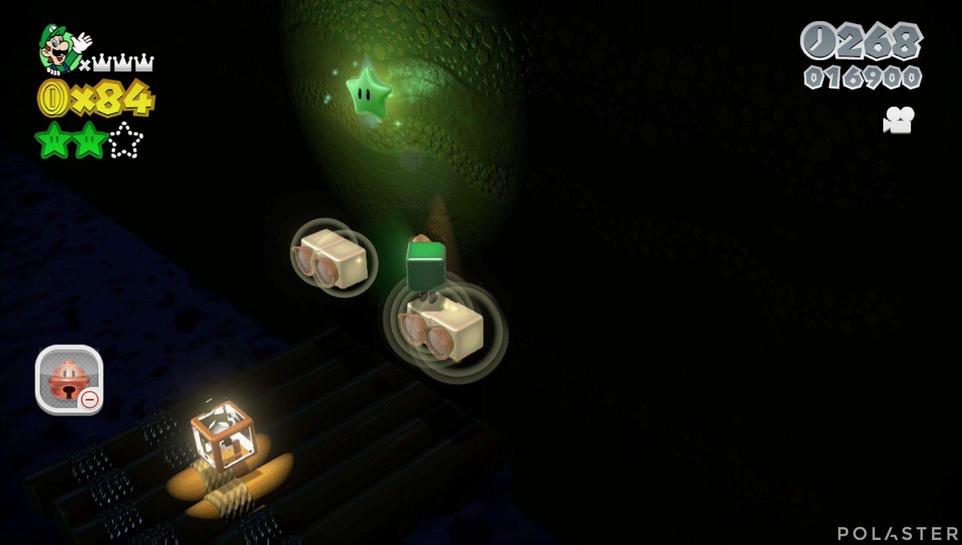 Super Mario 3D World Mundo Champiñón-3 Estrella 3