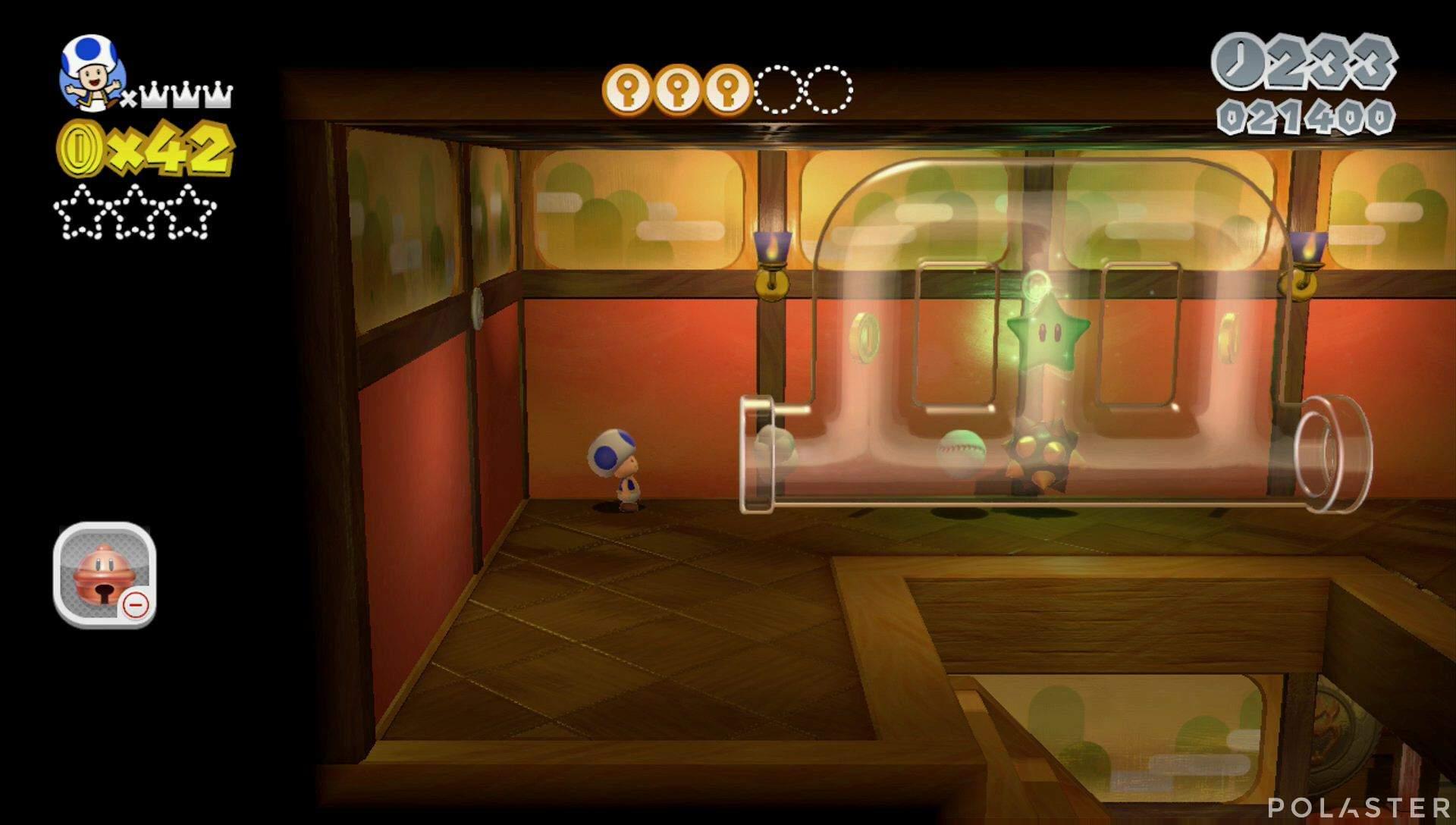 Super Mario 3D World Mundo Champiñón-5 Estrella 1