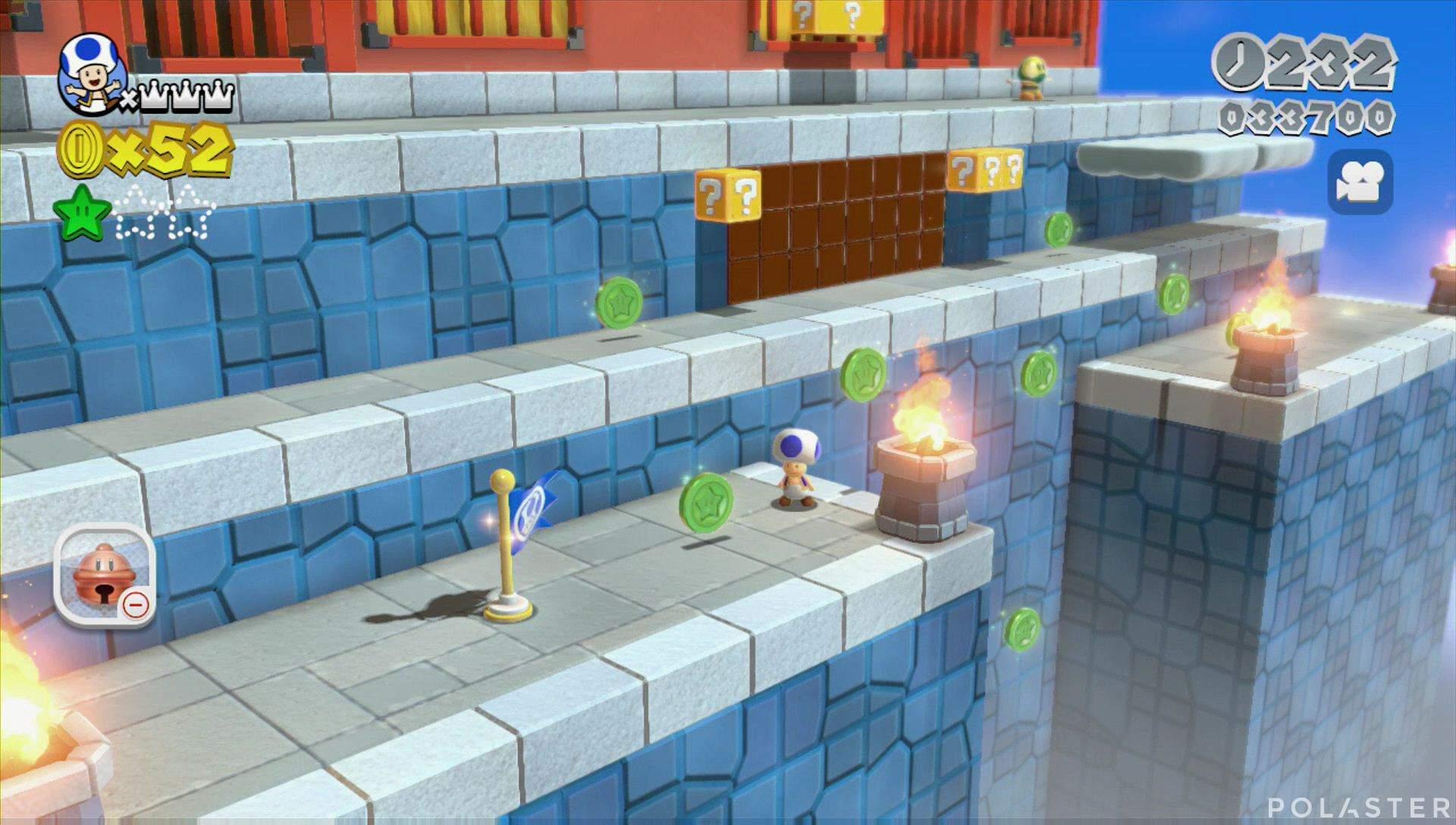 Super Mario 3D World Mundo Champiñón-5 Estrella 2