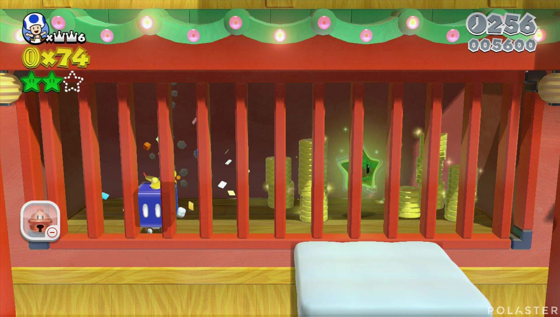 Super Mario 3D World Mundo Champiñón-5 Estrella 3