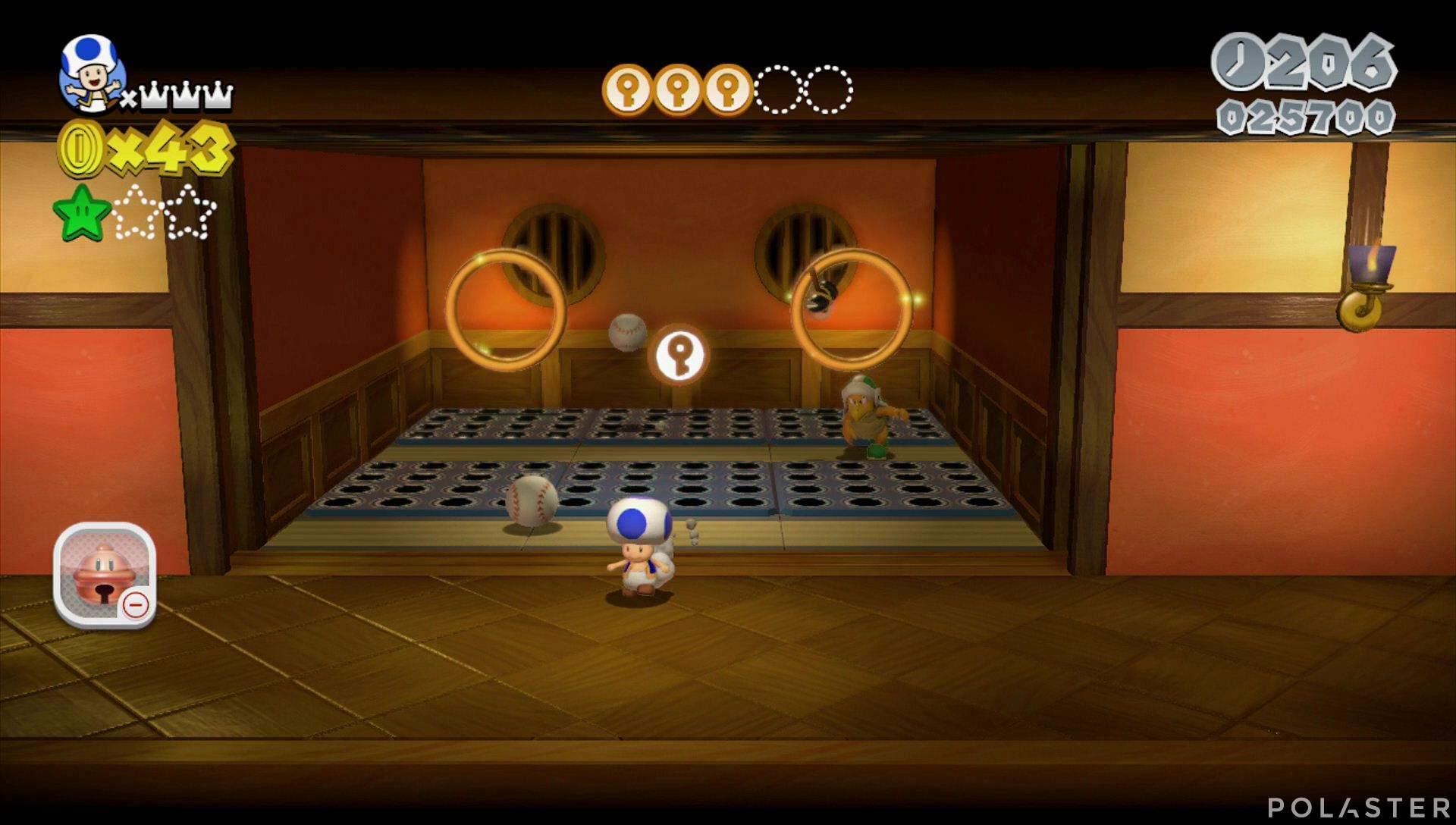 Super Mario 3D World Mundo Champiñón-5 Moneda llave 4