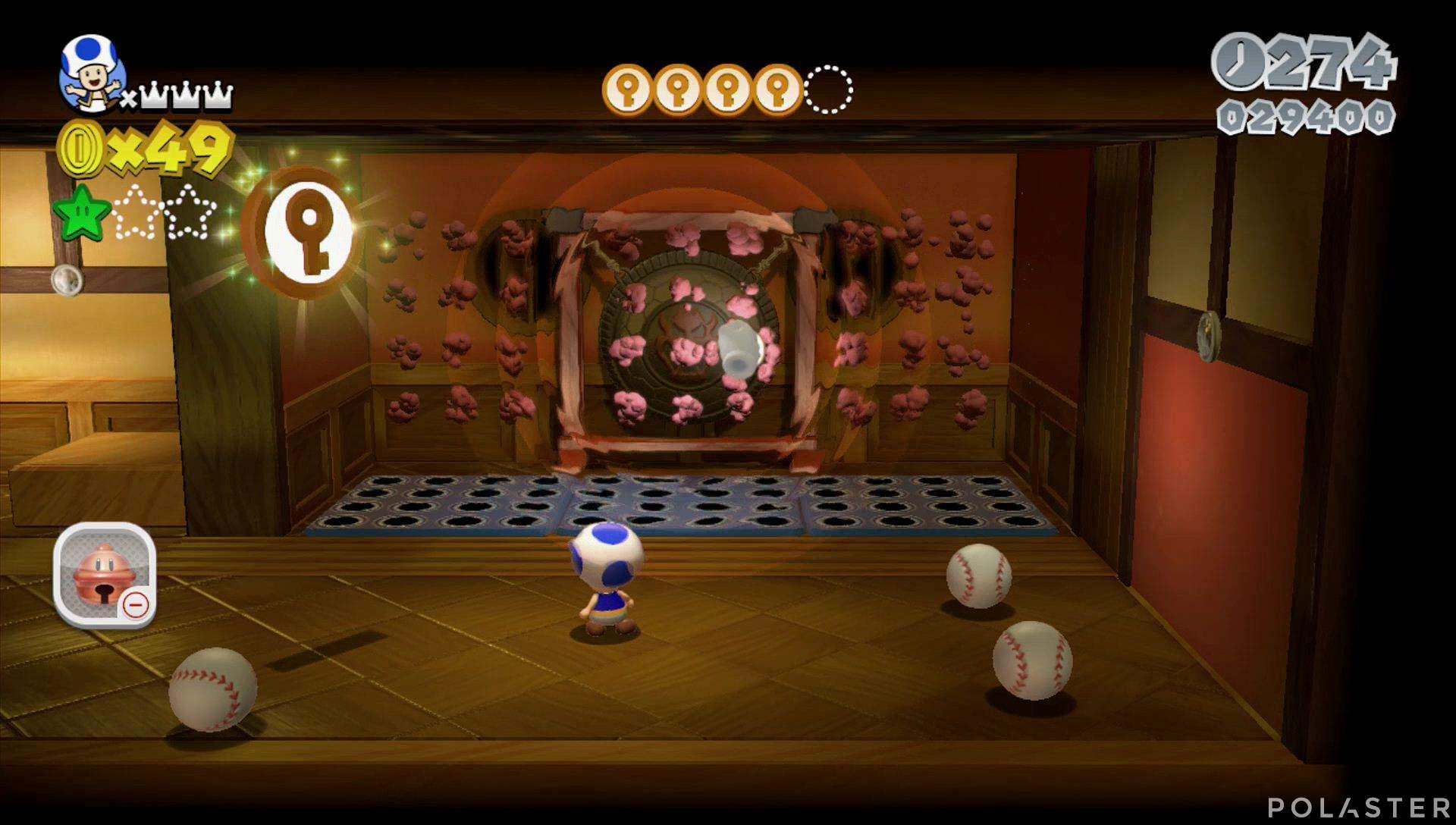 Super Mario 3D World Mundo Champiñón-5 Moneda llave 5