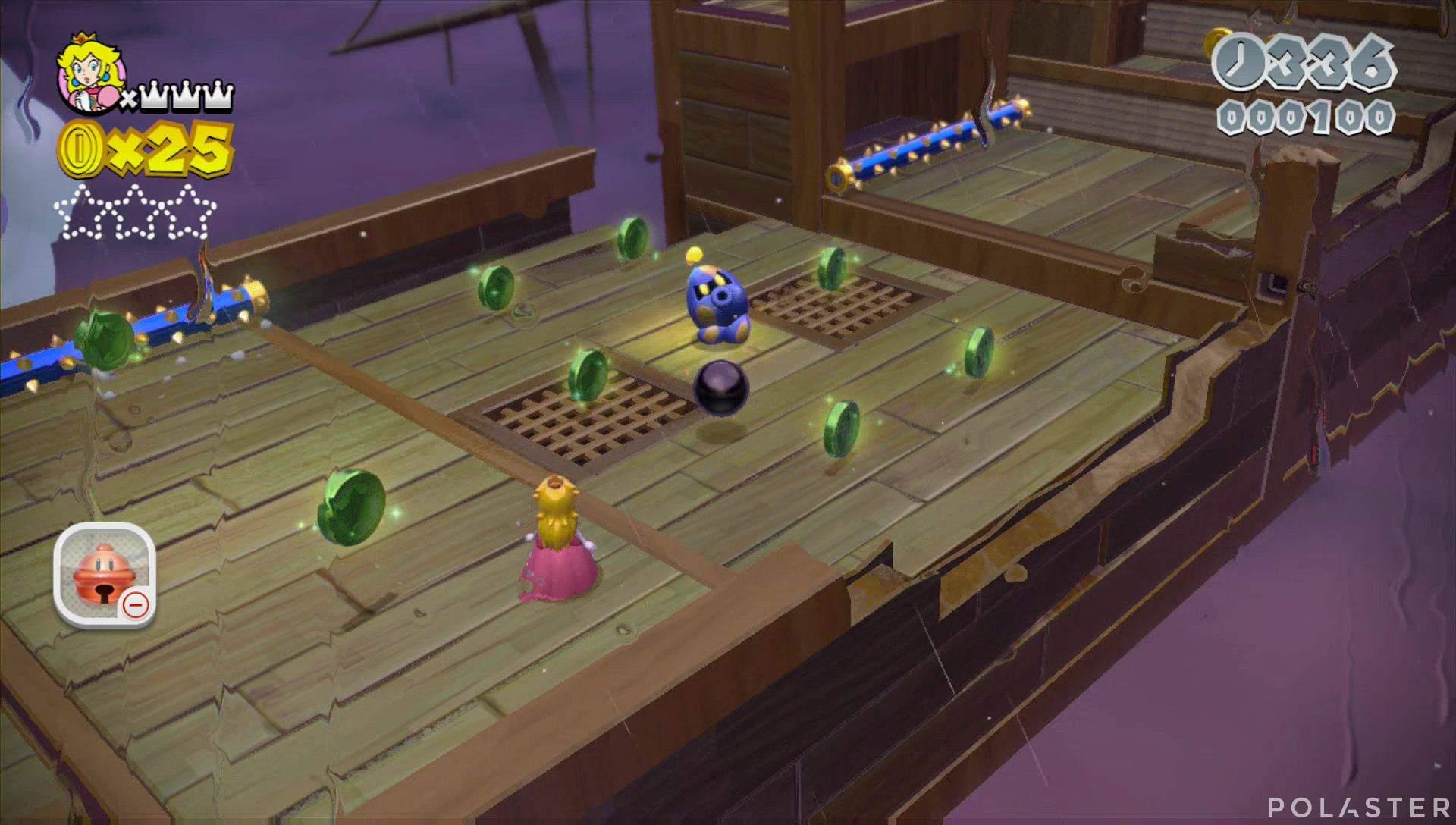 Super Mario 3D World Mundo Champiñón-6 Estrella 1