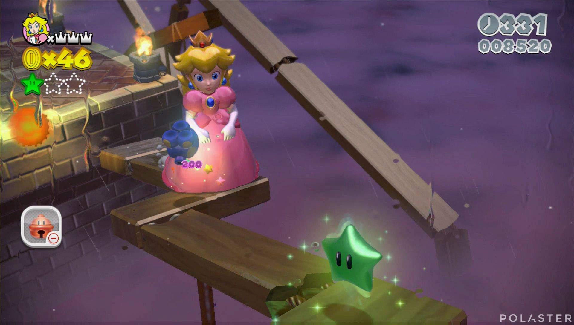 Super Mario 3D World Mundo Champiñón-6 Estrella 2
