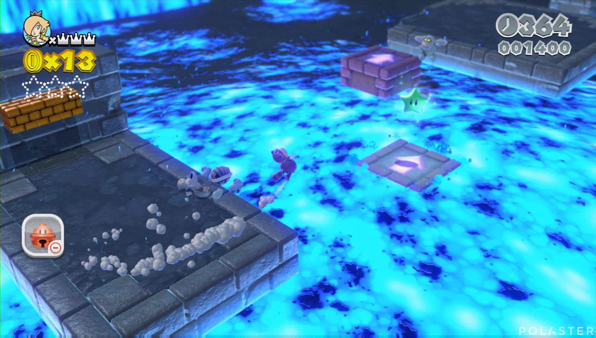 Super Mario 3D World Mundo Champiñón-7 Estrella 1