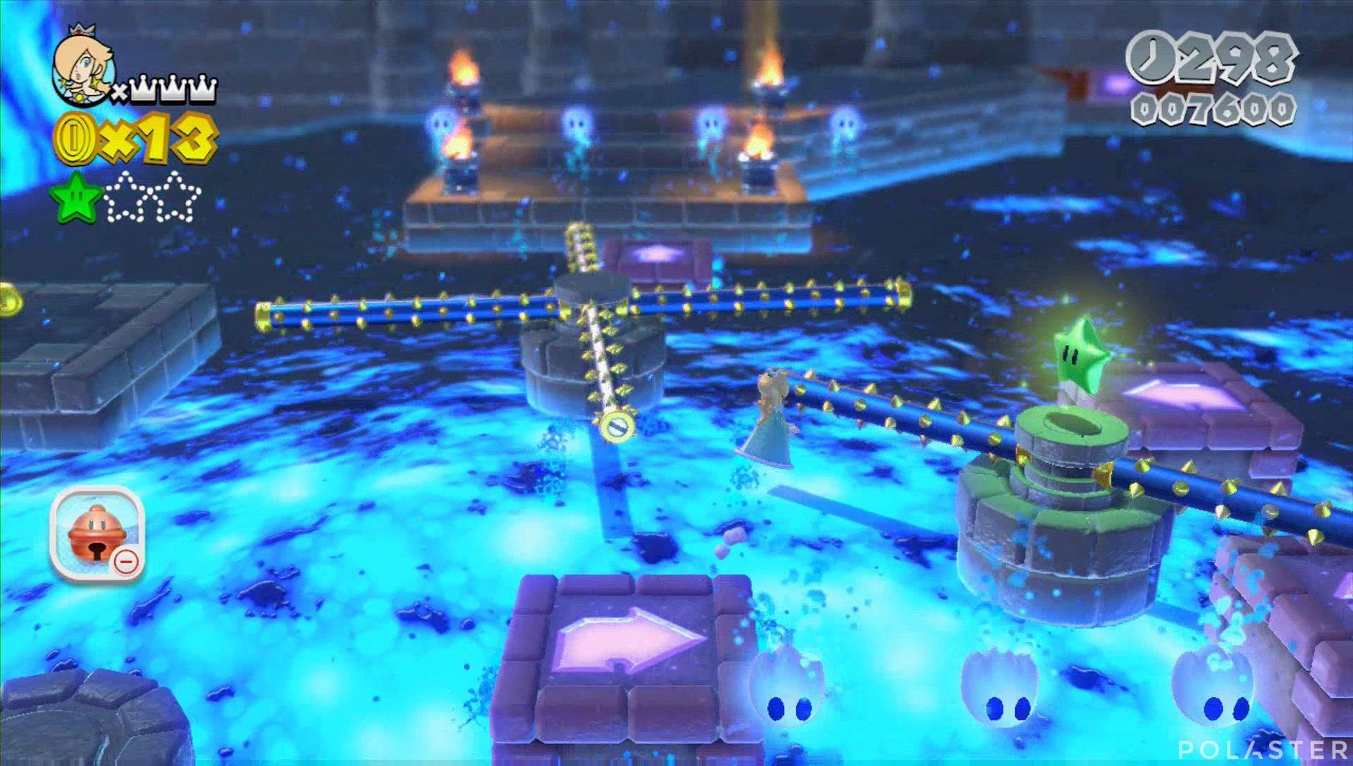 Super Mario 3D World Mundo Champiñón-7 Estrella 2